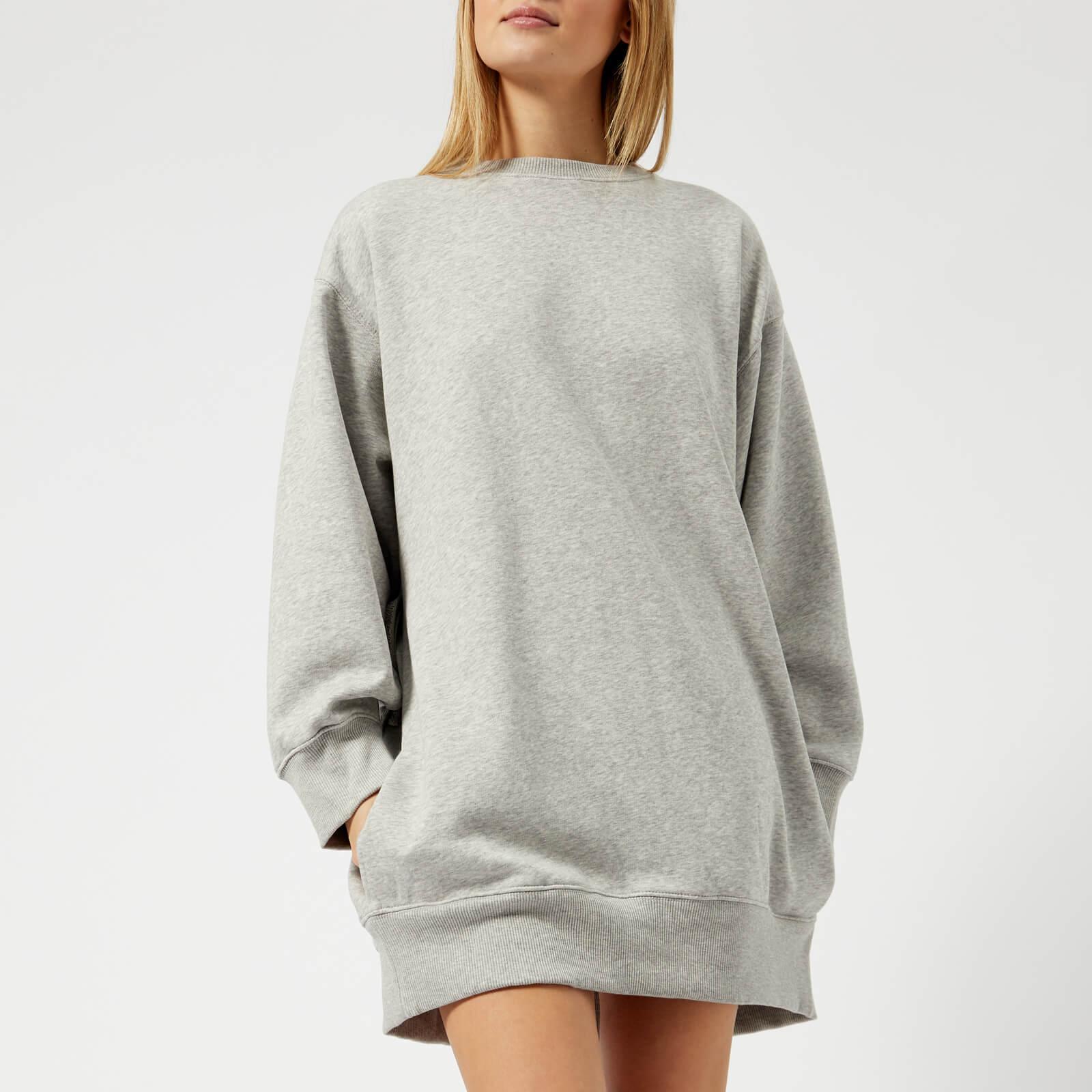 eff7245c Tommy Hilfiger X GIGI Women's Open Back Sweat Dress - Light Grey Heather -  Free UK Delivery over £50