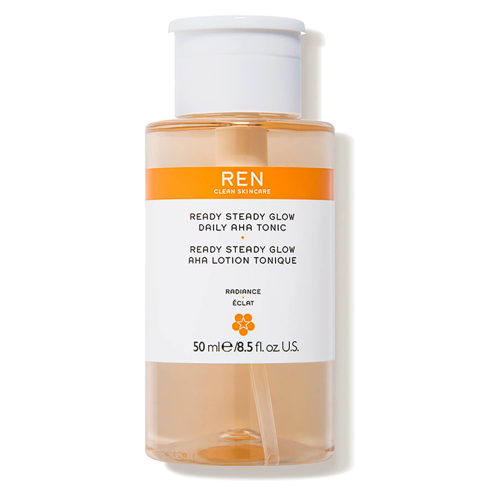REN Ready Steady Glow Daily AHA Tonic 50ml