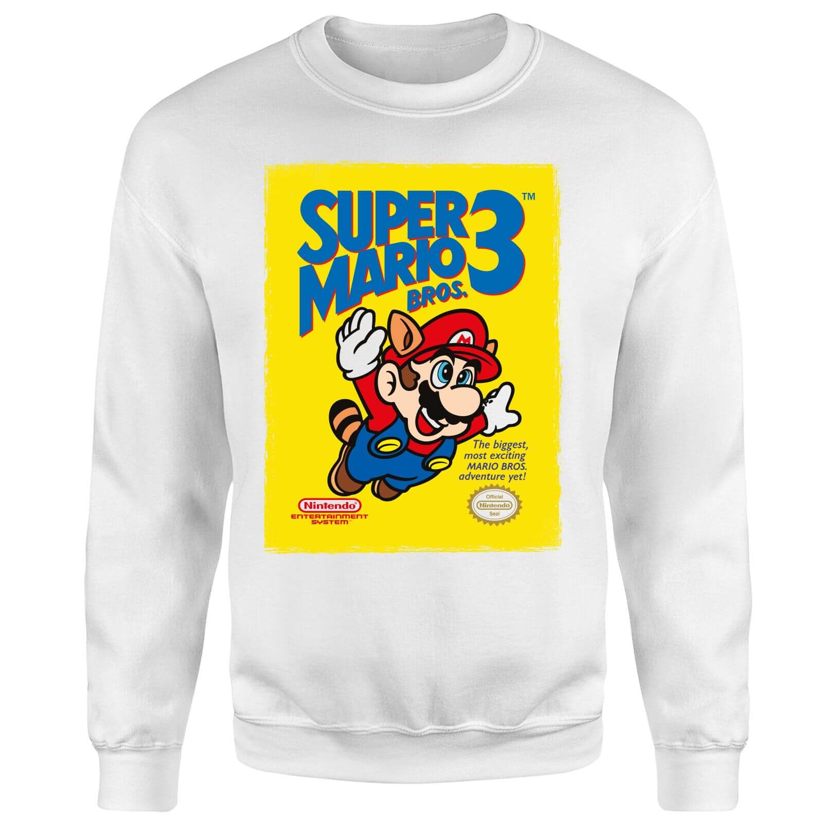 Nintendo Super Mario Bros 3 Sweatshirt - White