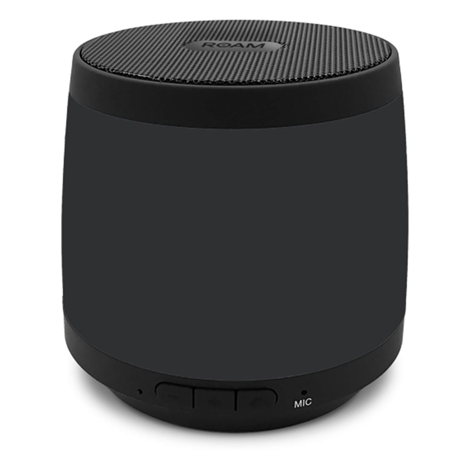 ROAM Colours Wireless Bluetooth Speaker - Black