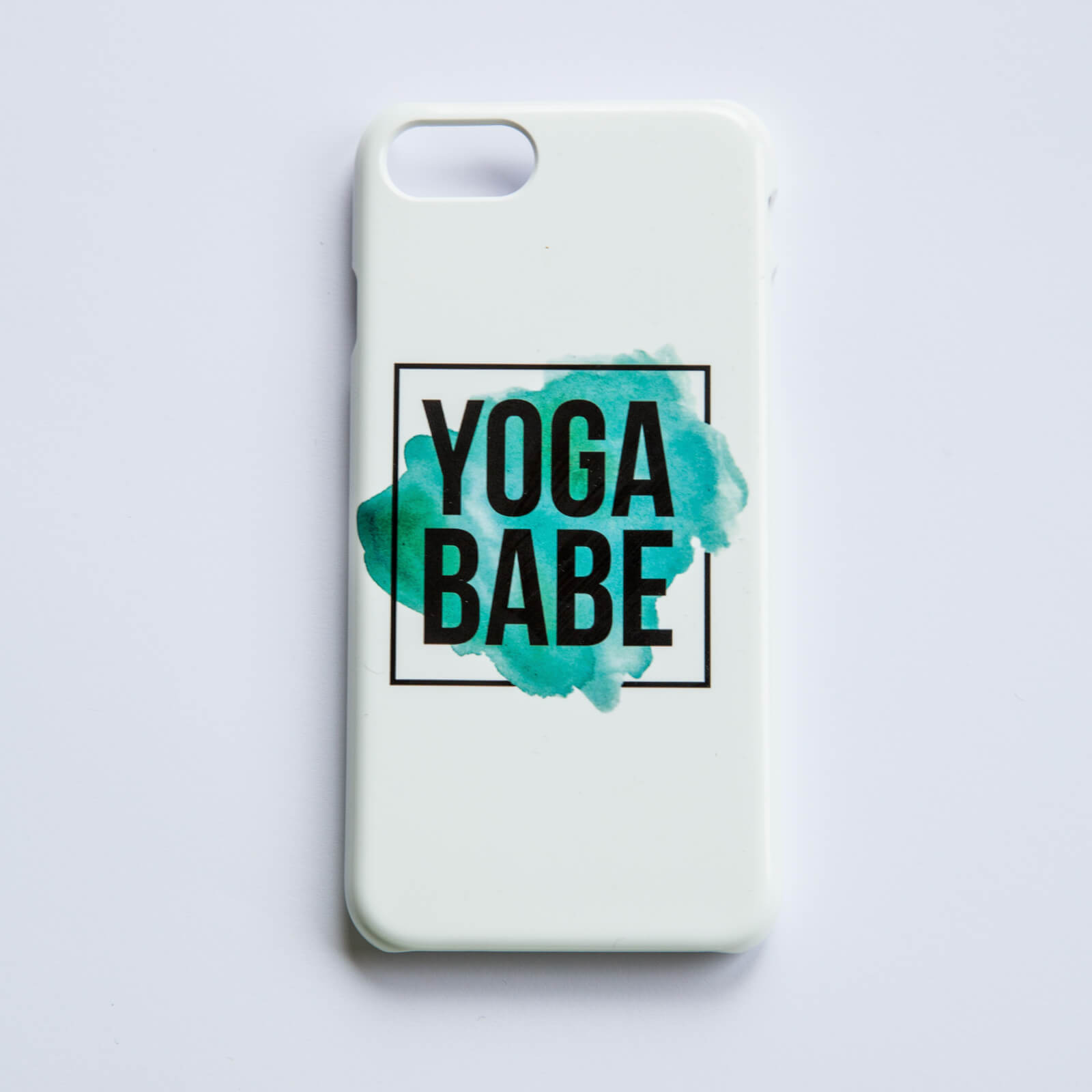 Yoga Babe Phone Case for iPhone and Android - iPhone 5/5S - Snap Case - Matte