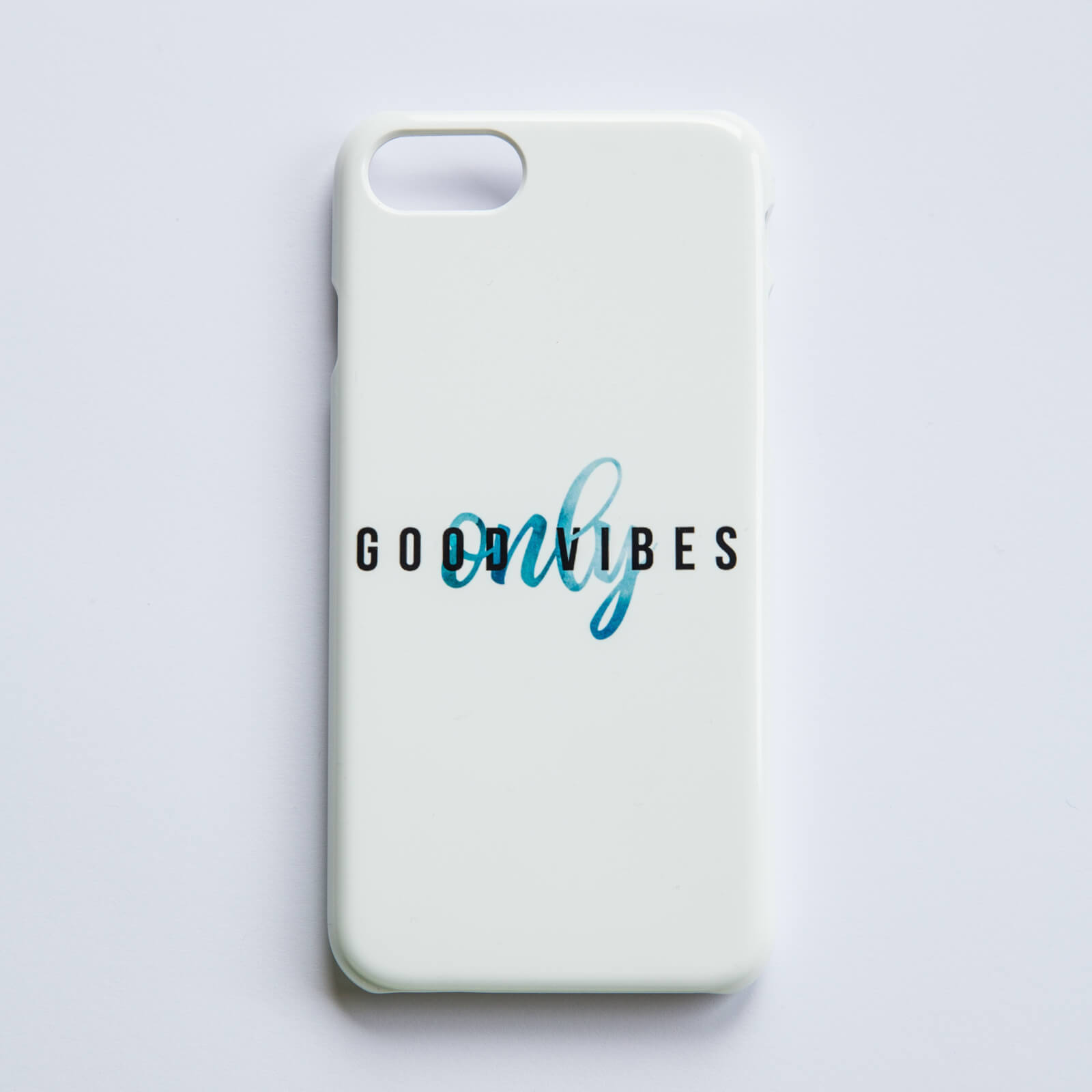 Good Vibes Only Phone Case for iPhone and Android - iPhone 5/5S - Snap Case - Matte