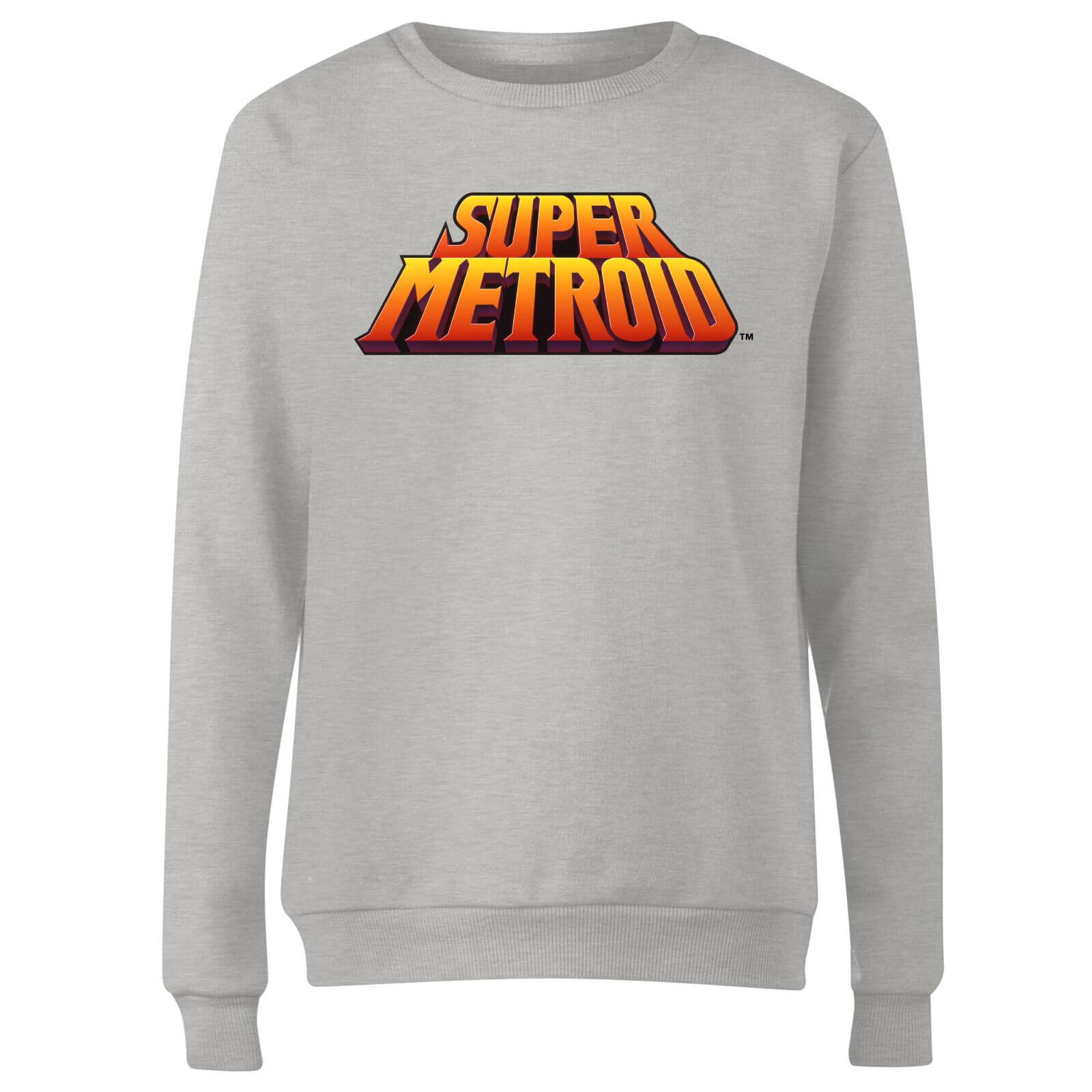 Nintendo Super Metroid Retro Logo Colour Women
