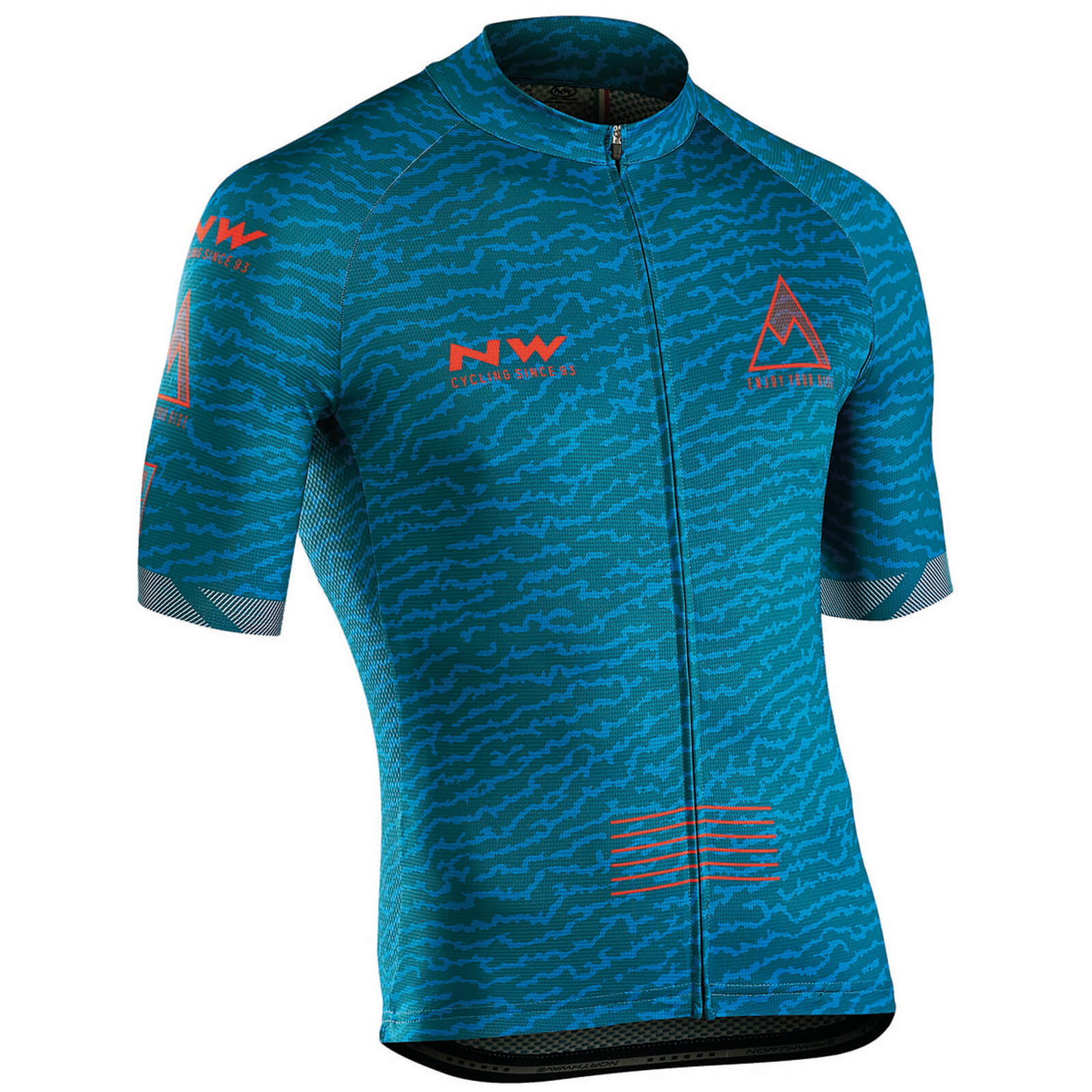 Northwave Rough Jersey - Petroleum Blue