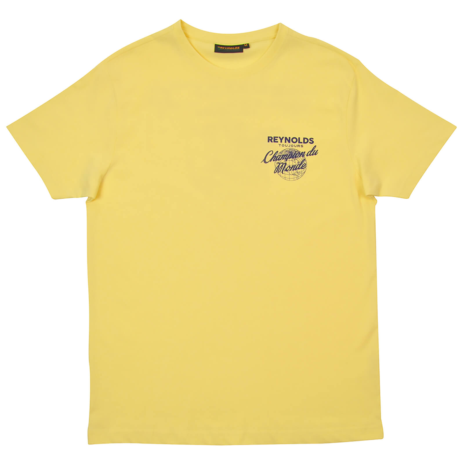 Reynolds Champion Du Monde T-Shirt - Yellow | Trøjer
