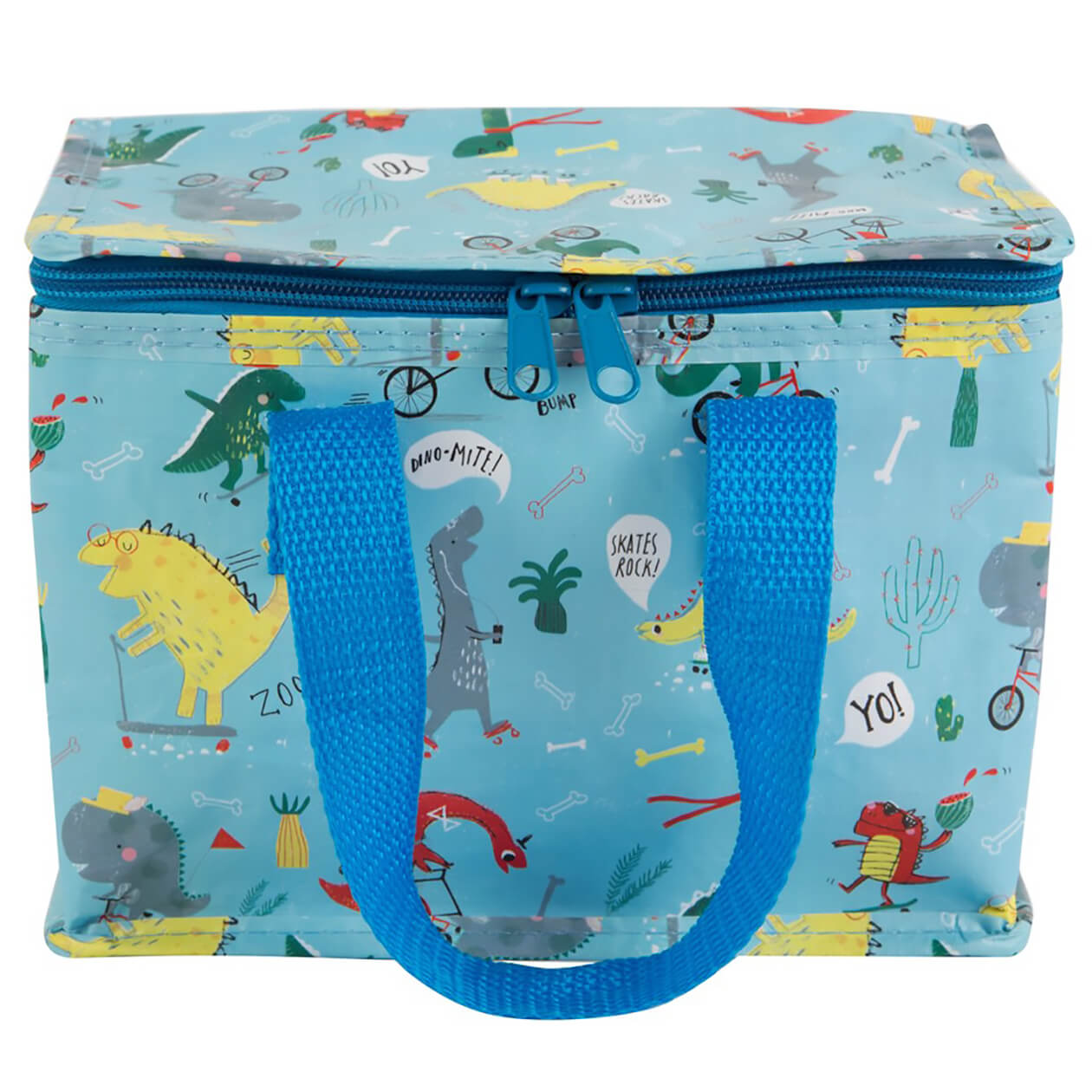 Sass & Belle Dino Skate Park Lunch Bag