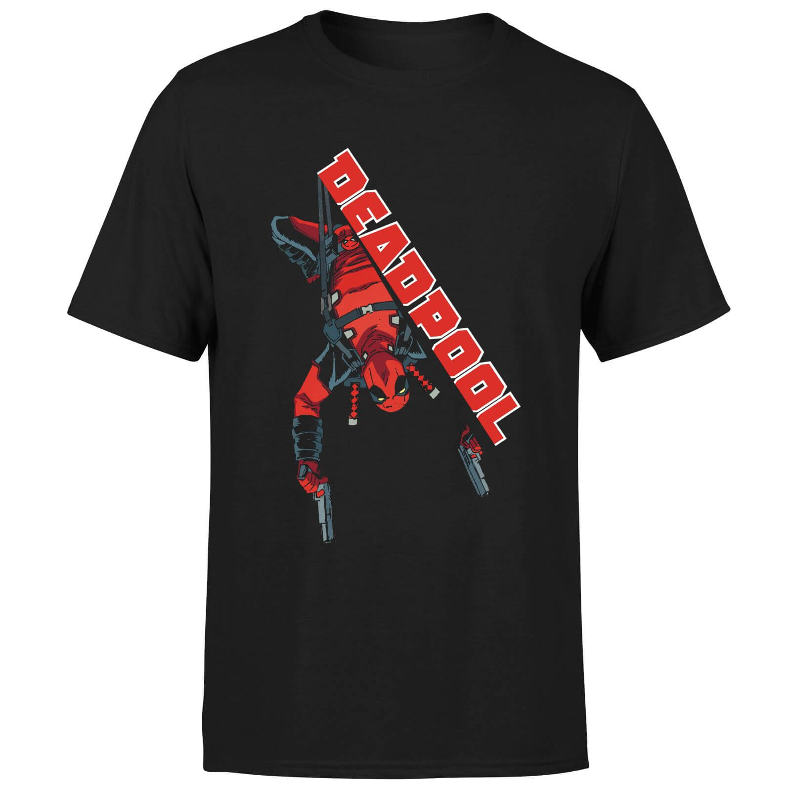 Marvel Deadpool Hang Split T-Shirt - Black