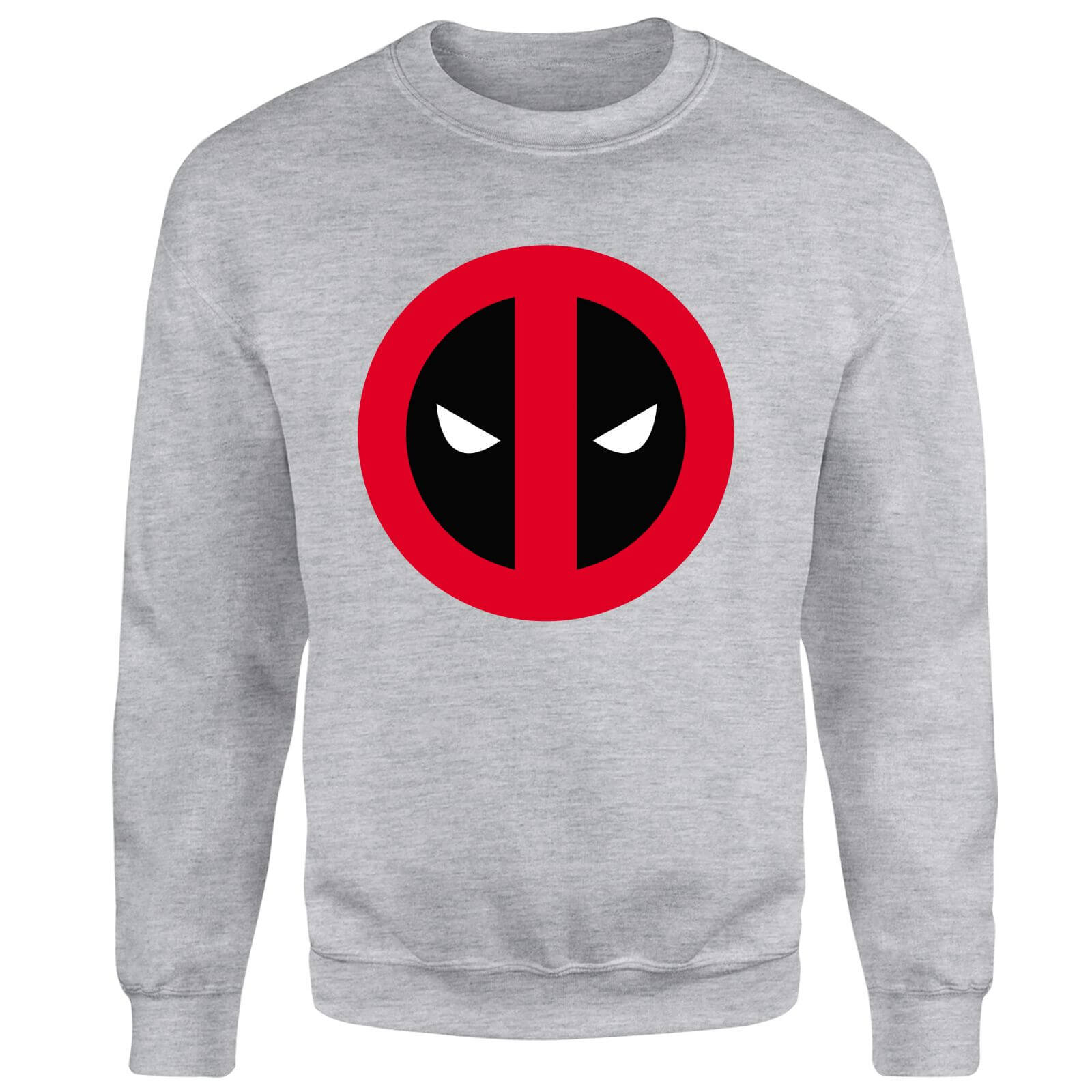 Marvel Deadpool Clean Logo Sweatshirt - Grey