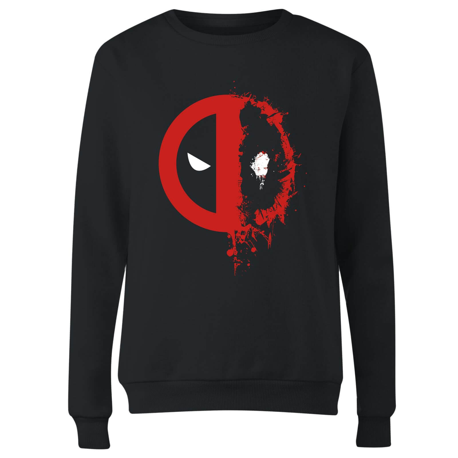 Marvel Deadpool Split Splat Logo Women
