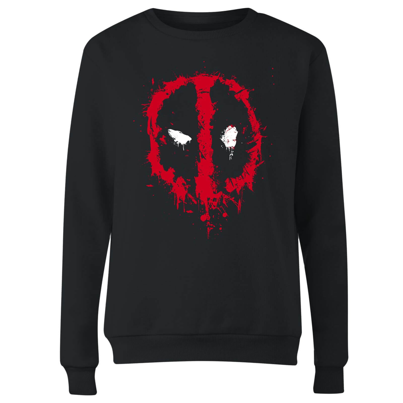 Marvel Deadpool Splat Face Women