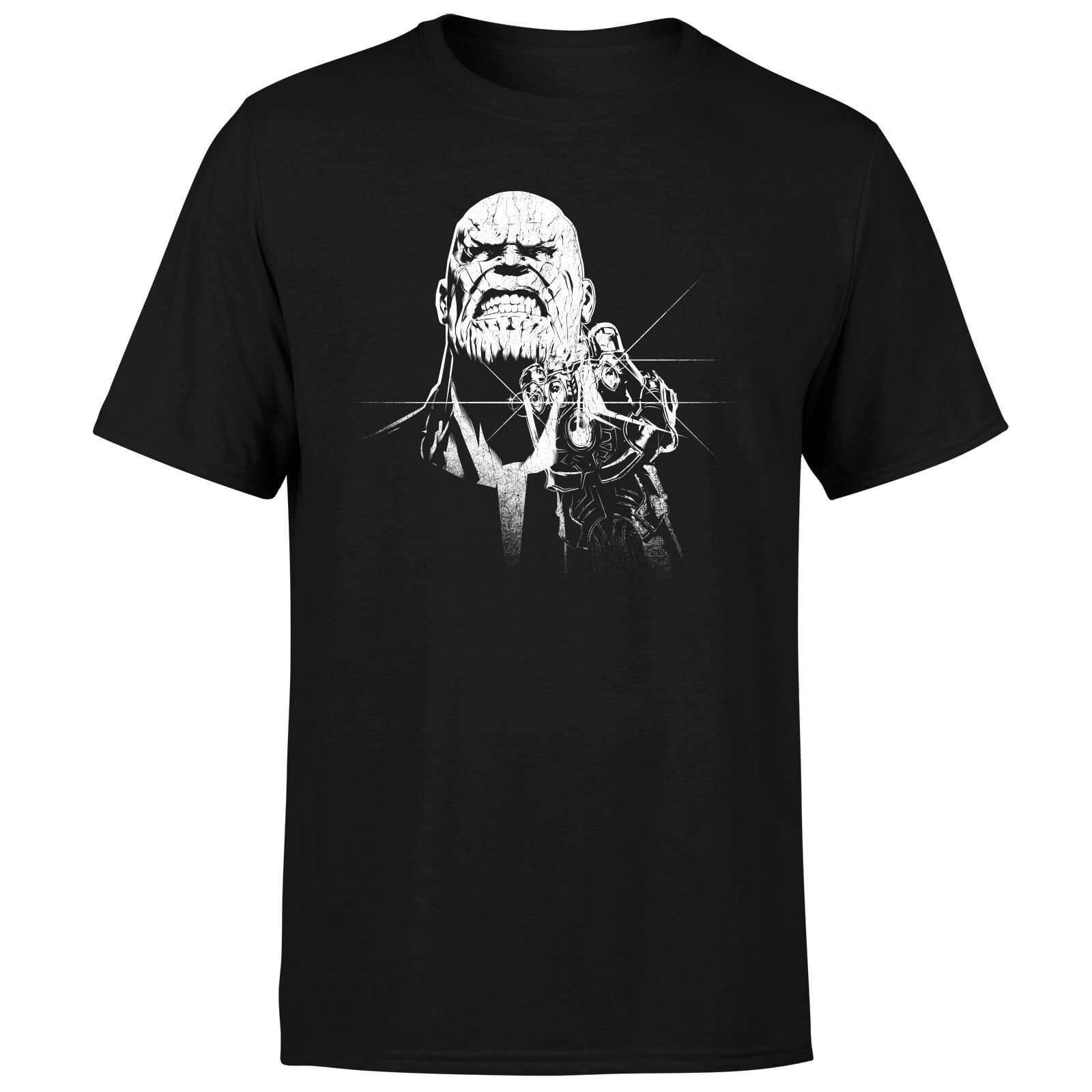 Marvel Avengers Infinity War Fierce Thanos T-Shirt - Black