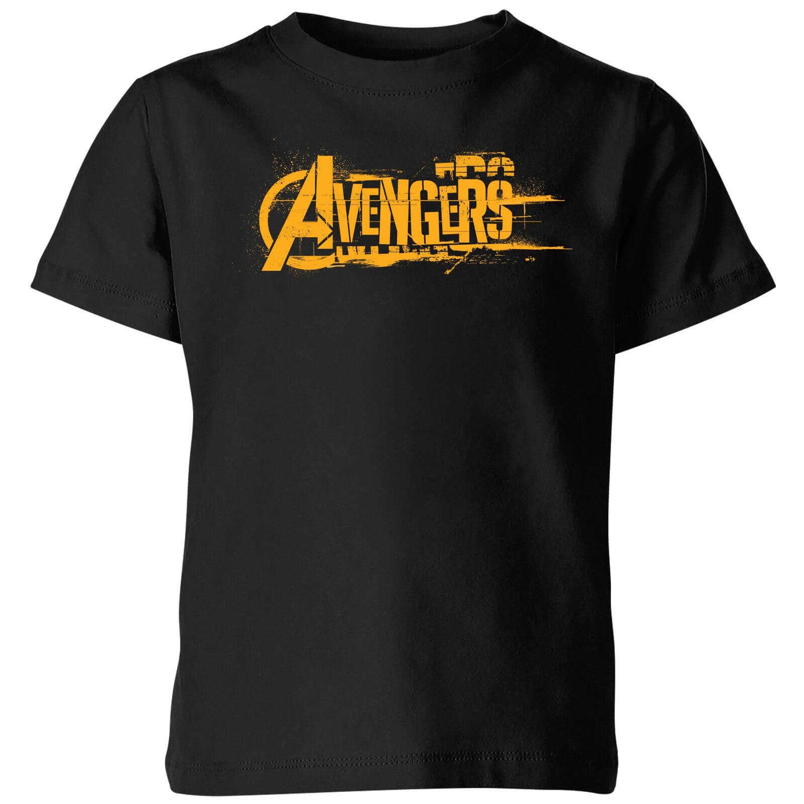 Marvel Avengers Infinity War Orange Logo Kids