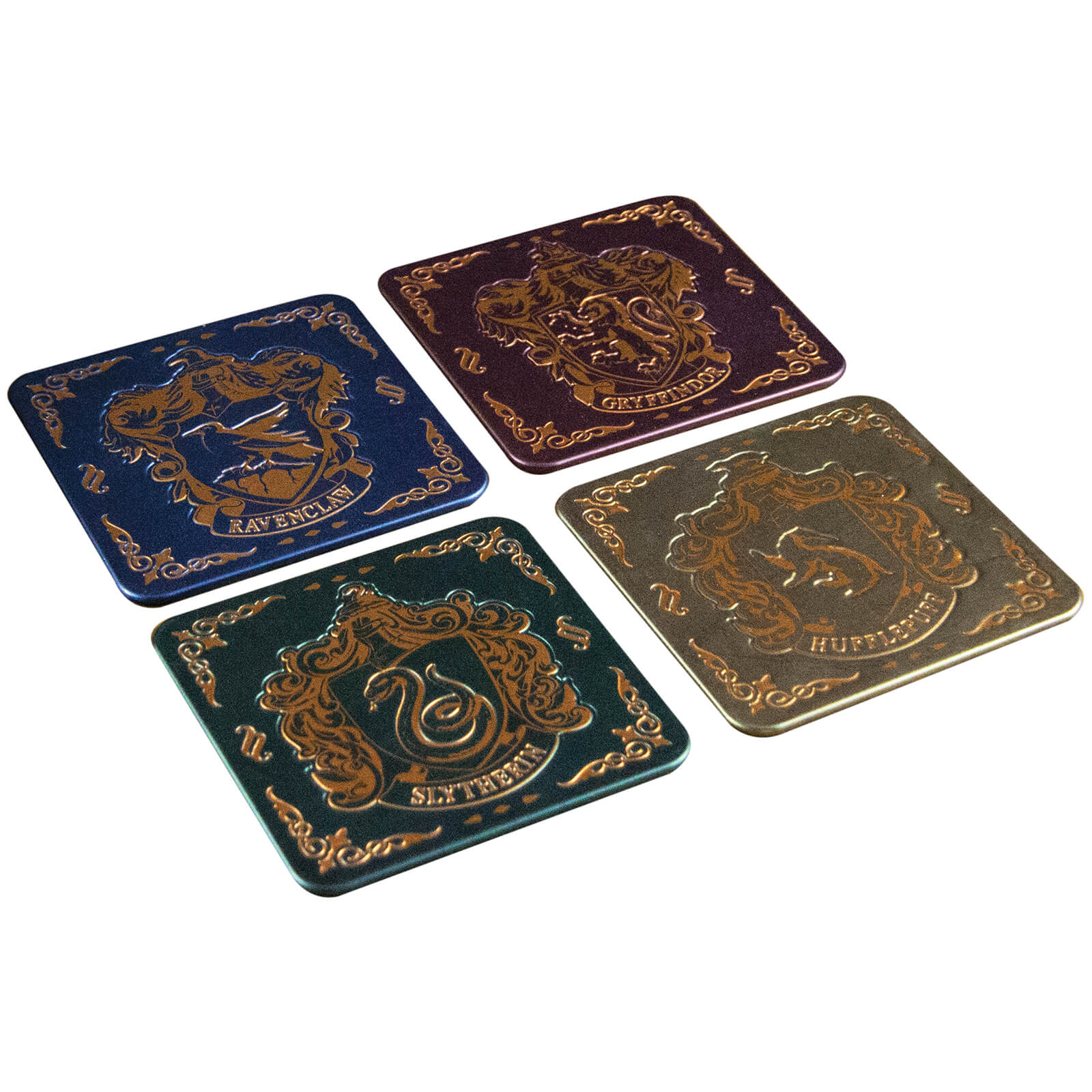 Harry Potter Hogwarts Crest Coasters