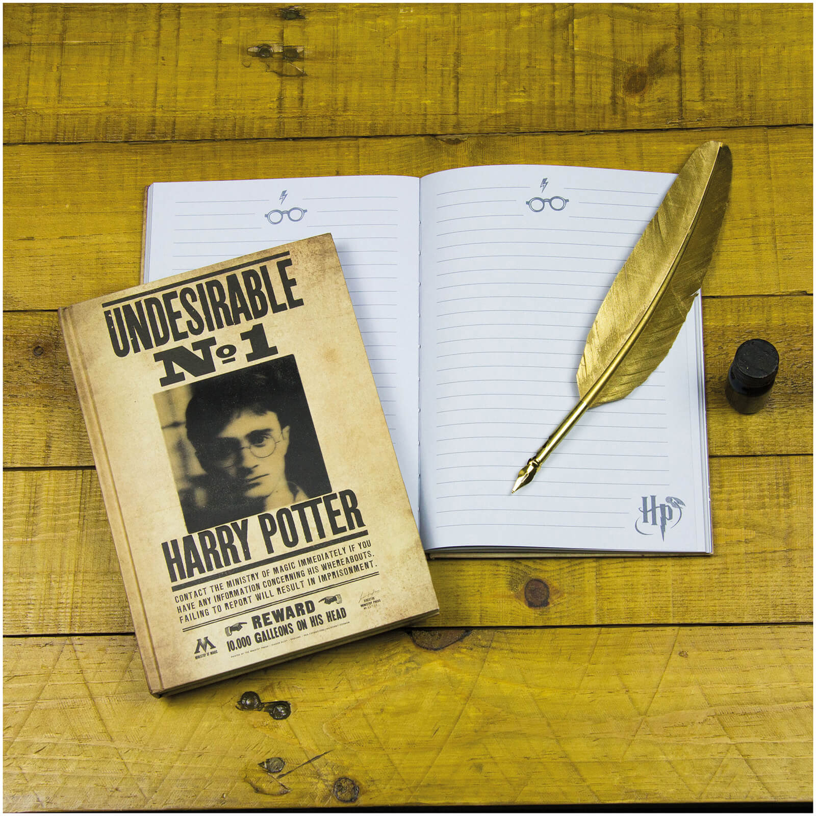 Harry Potter 3D Lenticular Notebook