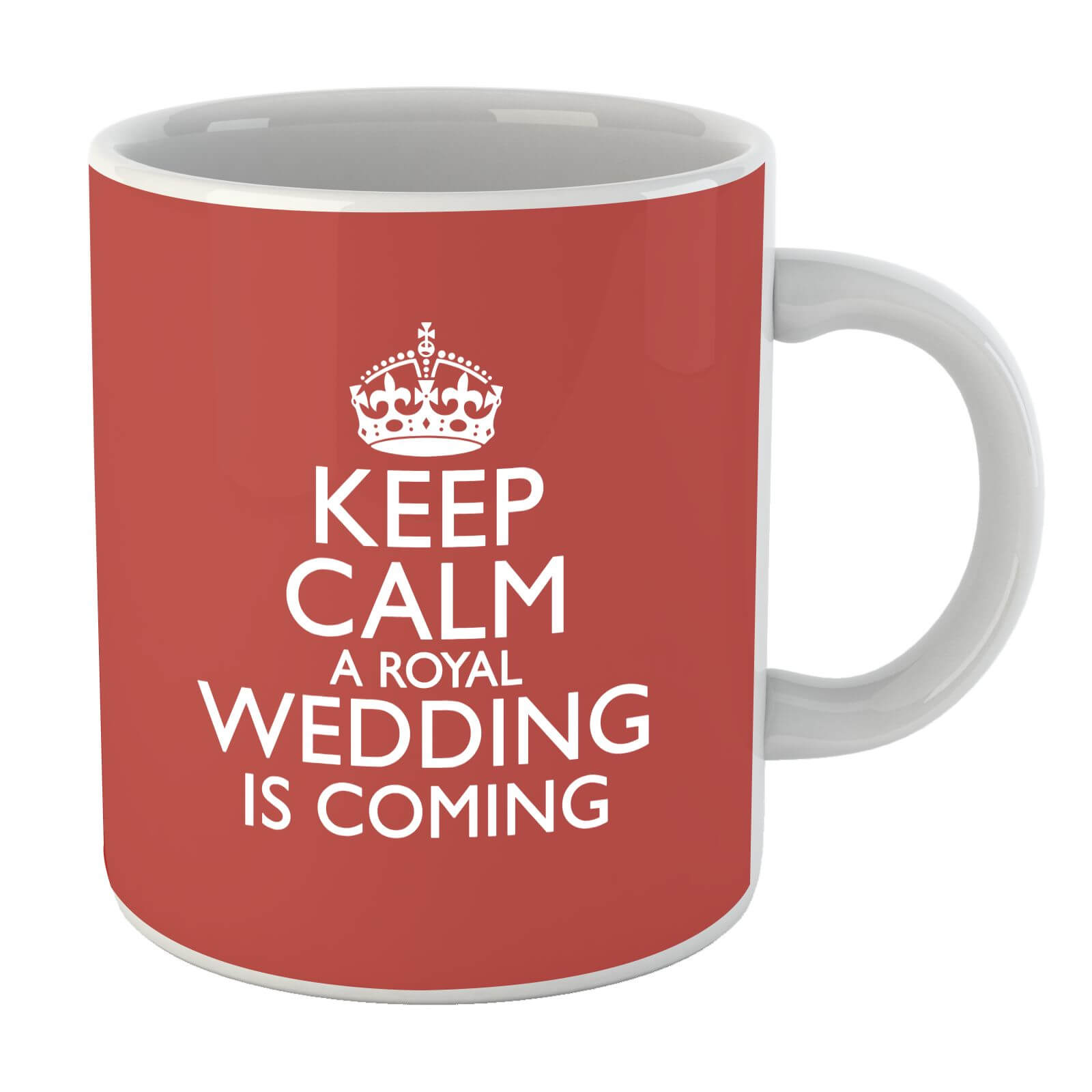 Keep Calm Wedding Coming Mug