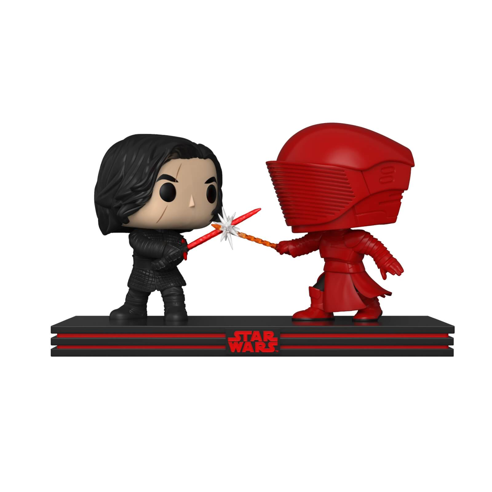 Star Wars The Last Jedi Kylo Ren & Praetorian Guard Pop! Movie Moment