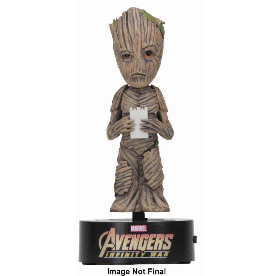 NECA The Avengers Infinity War Body Knocker - Groot