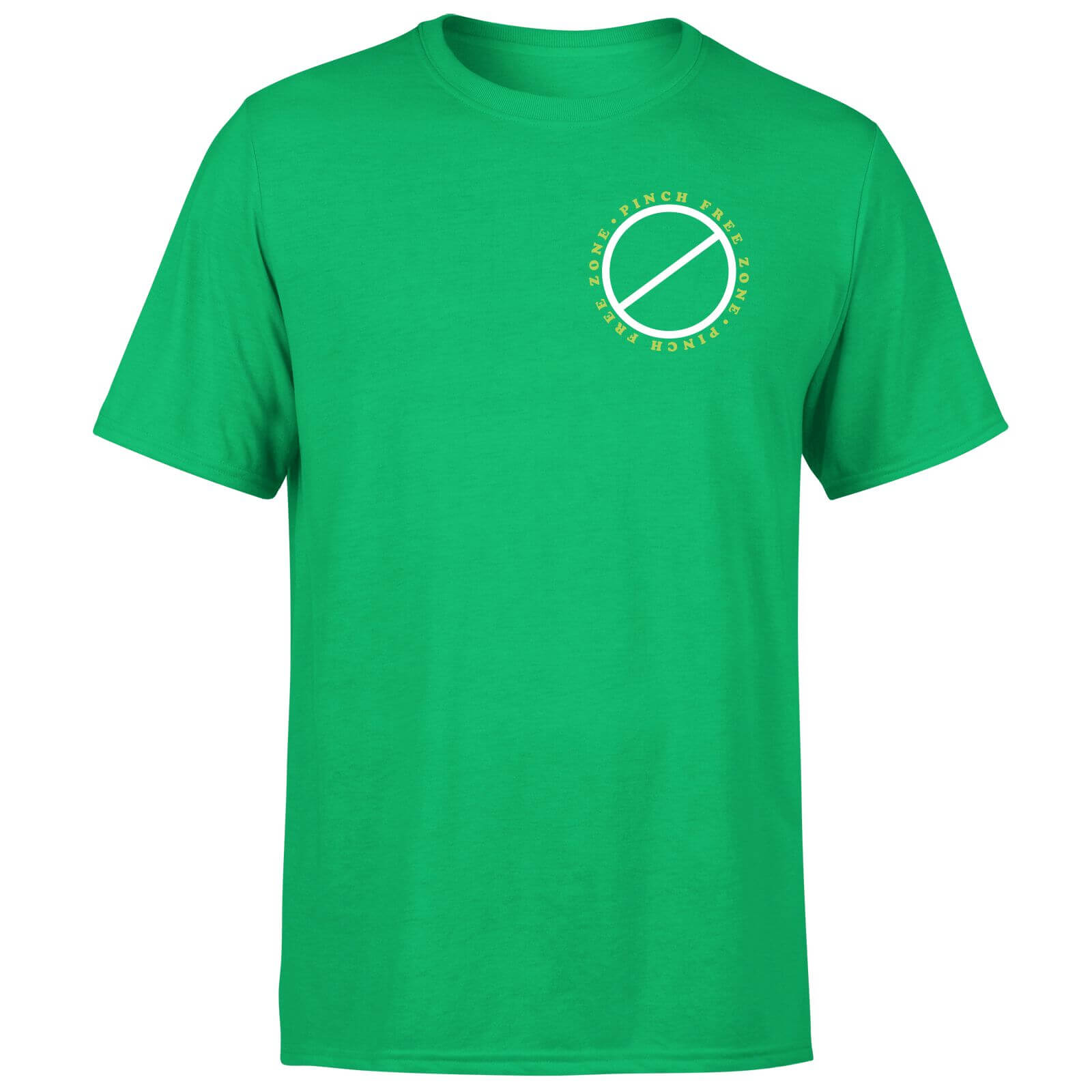 Pinch Free Zone T-Shirt - Kelly Green