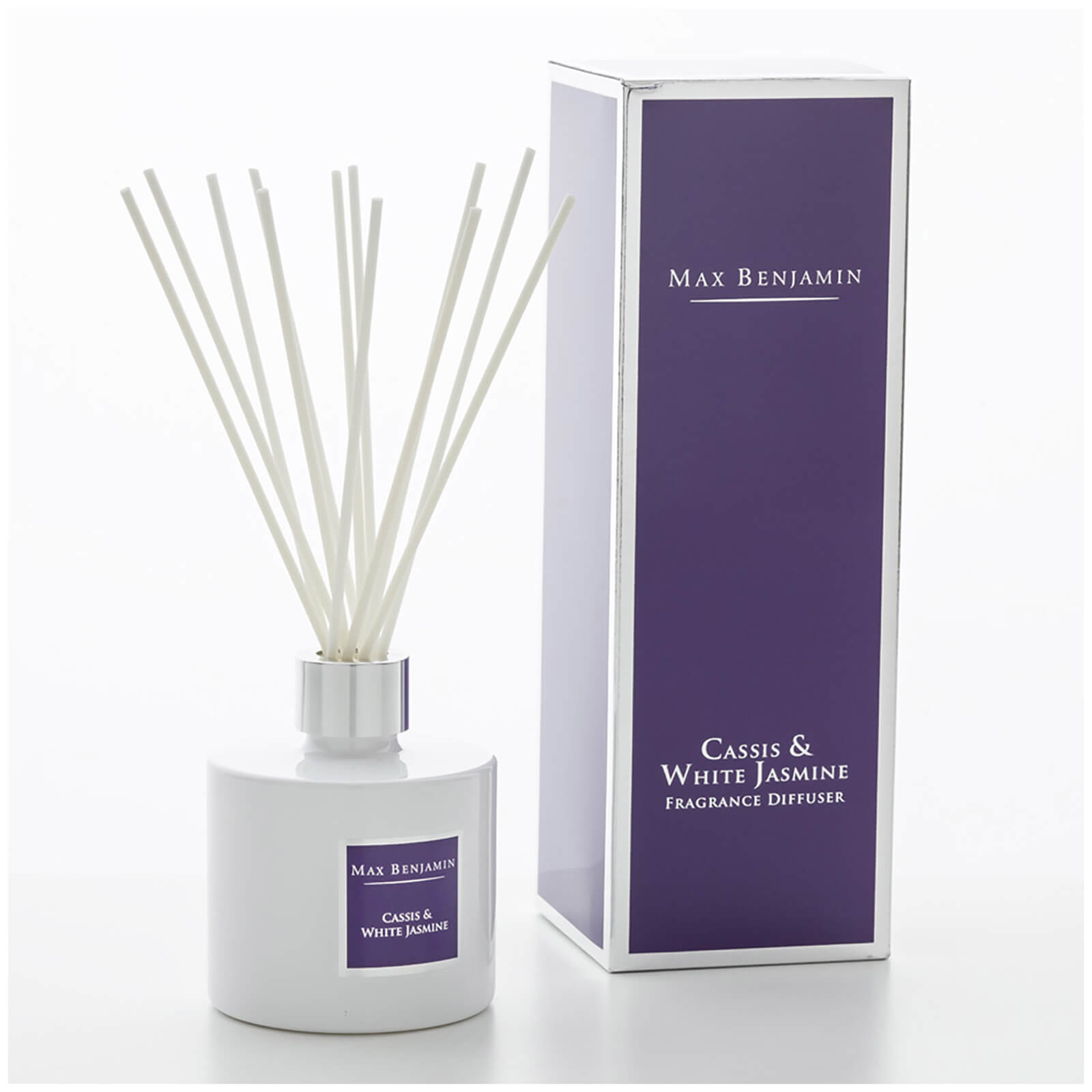 Max Benjamin Cassis and White Jasmine Fragrance Diffuser
