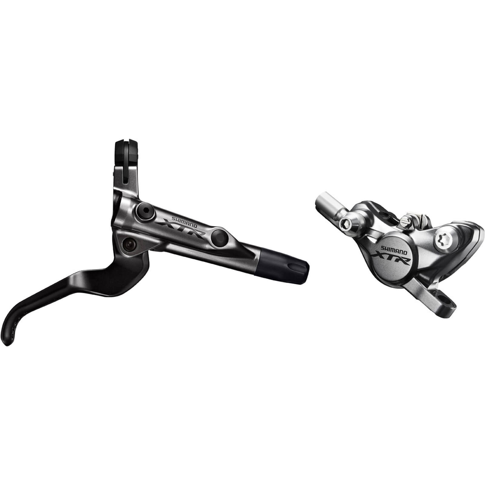 Shimano BR-M9000 XTR Bled I-Spec-II Ready Brake Lever/Post Mount Caliper