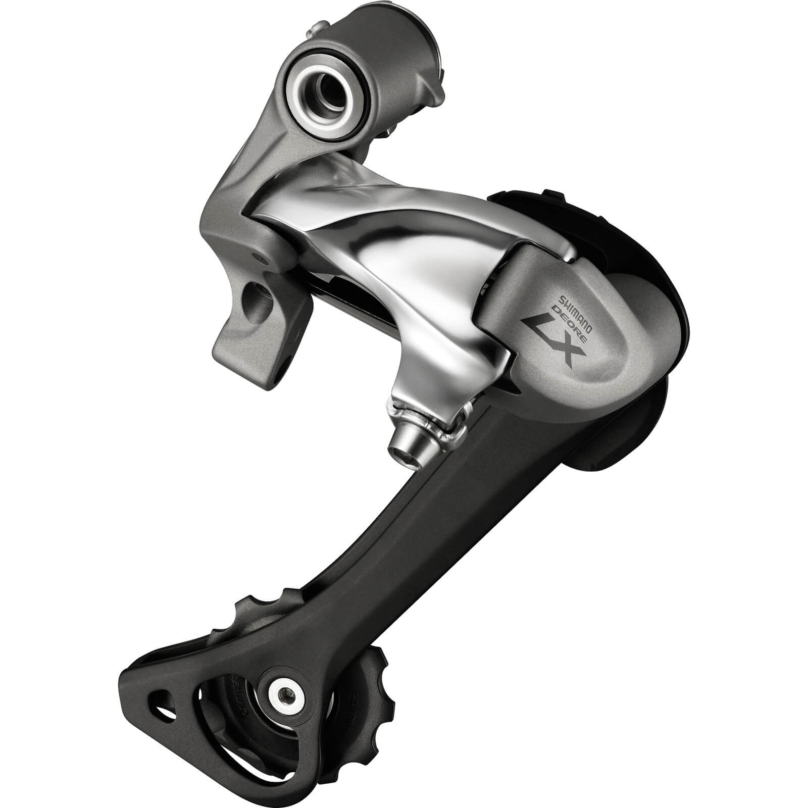 Shimano RD-T670 Deore LX 10-Speed Rear Derailleur - SGS - Top Normal - Silver