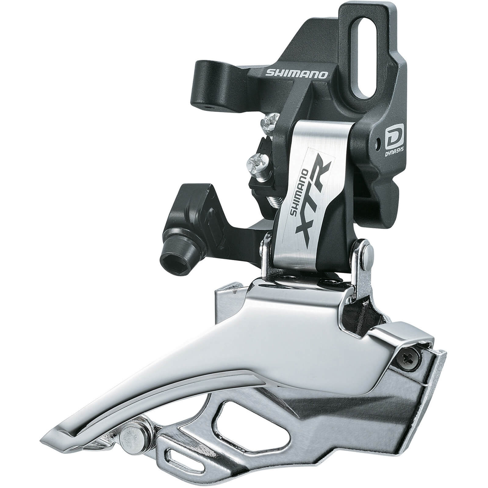 Shimano FD-M986 XTR 10-Speed Double Front Derailleur - Dual Pull - Direct-Fit