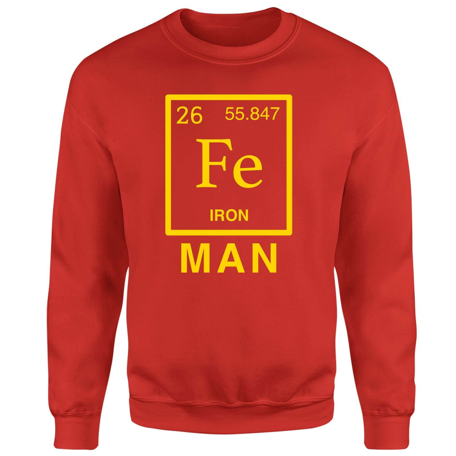 Fe Man Sweatshirt - Red