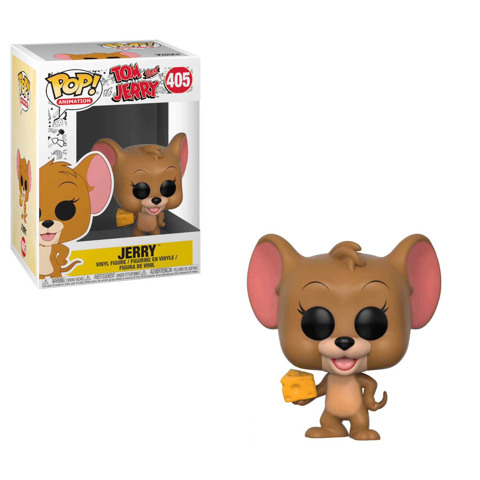 Hanna Barbera Tom & Jerry Jerry Pop! Vinyl Figure