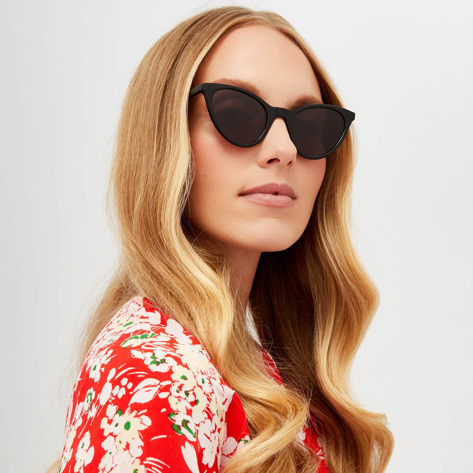 d2428936b McQ Alexander McQueen Women s Cat-Eye Sunglasses - Black Grey - Free UK  Delivery over £50