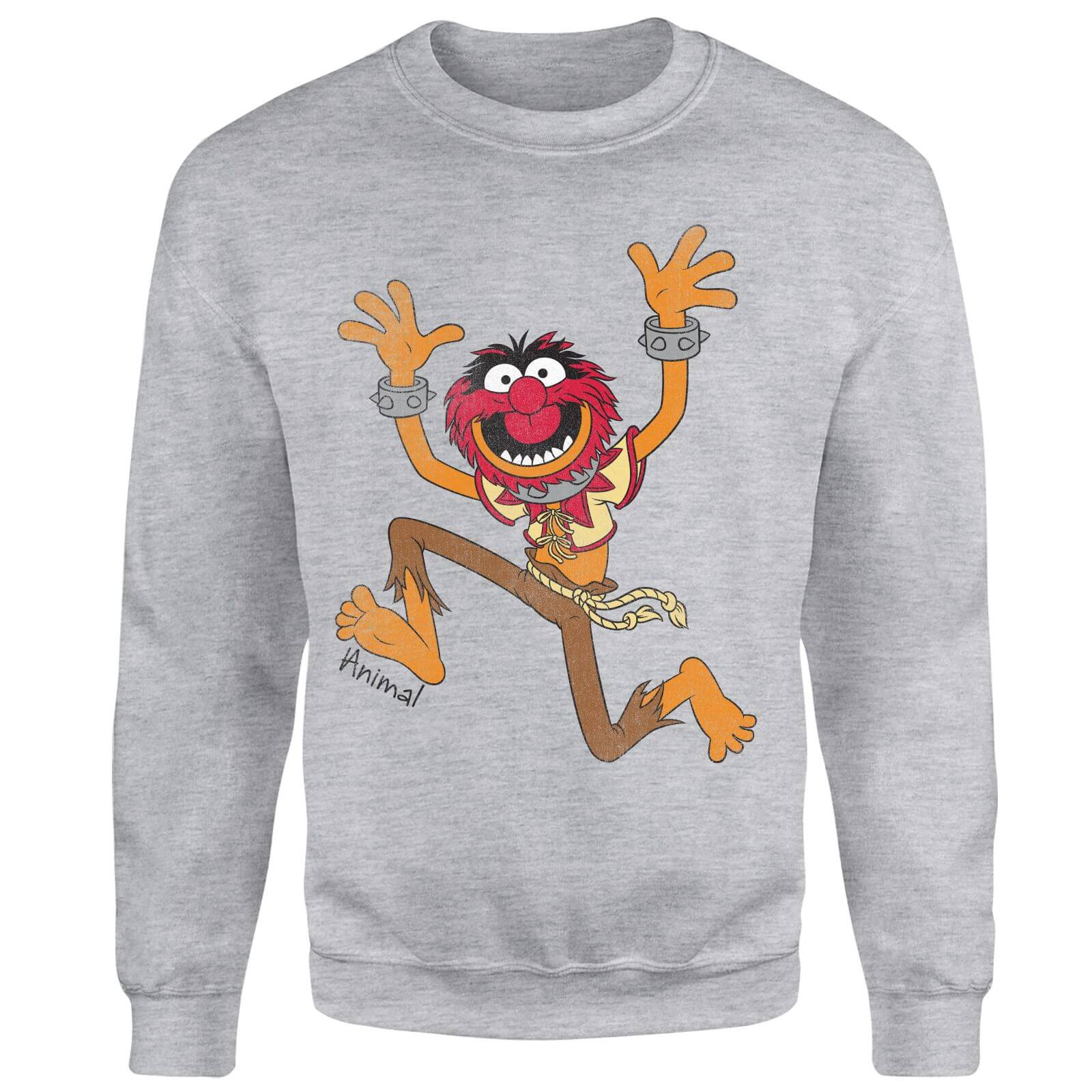 Disney Muppets Animal Classic Sweatshirt - Grey