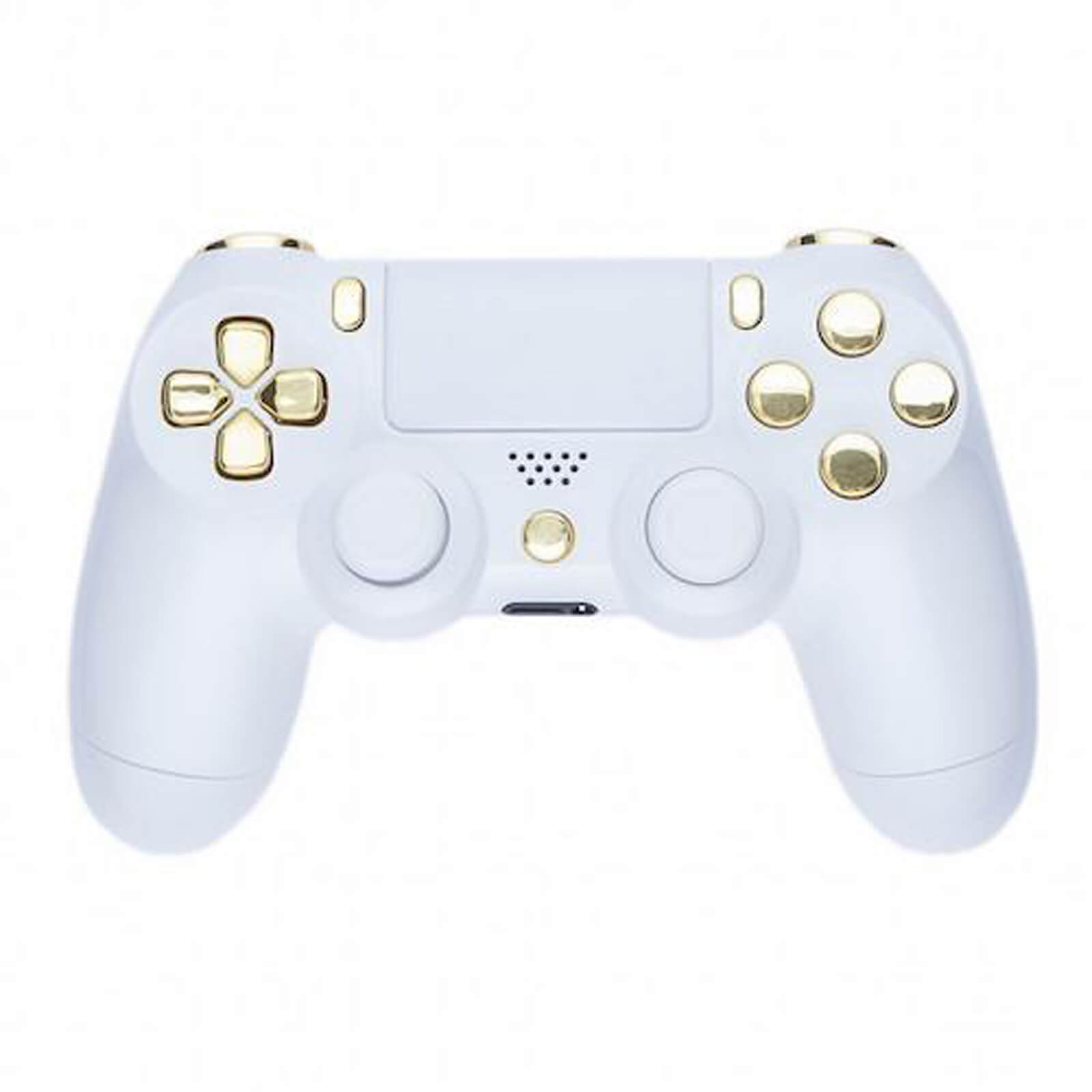 PlayStation 4 Controller - Piano White   Gold Games Accessories  fdc13dc694