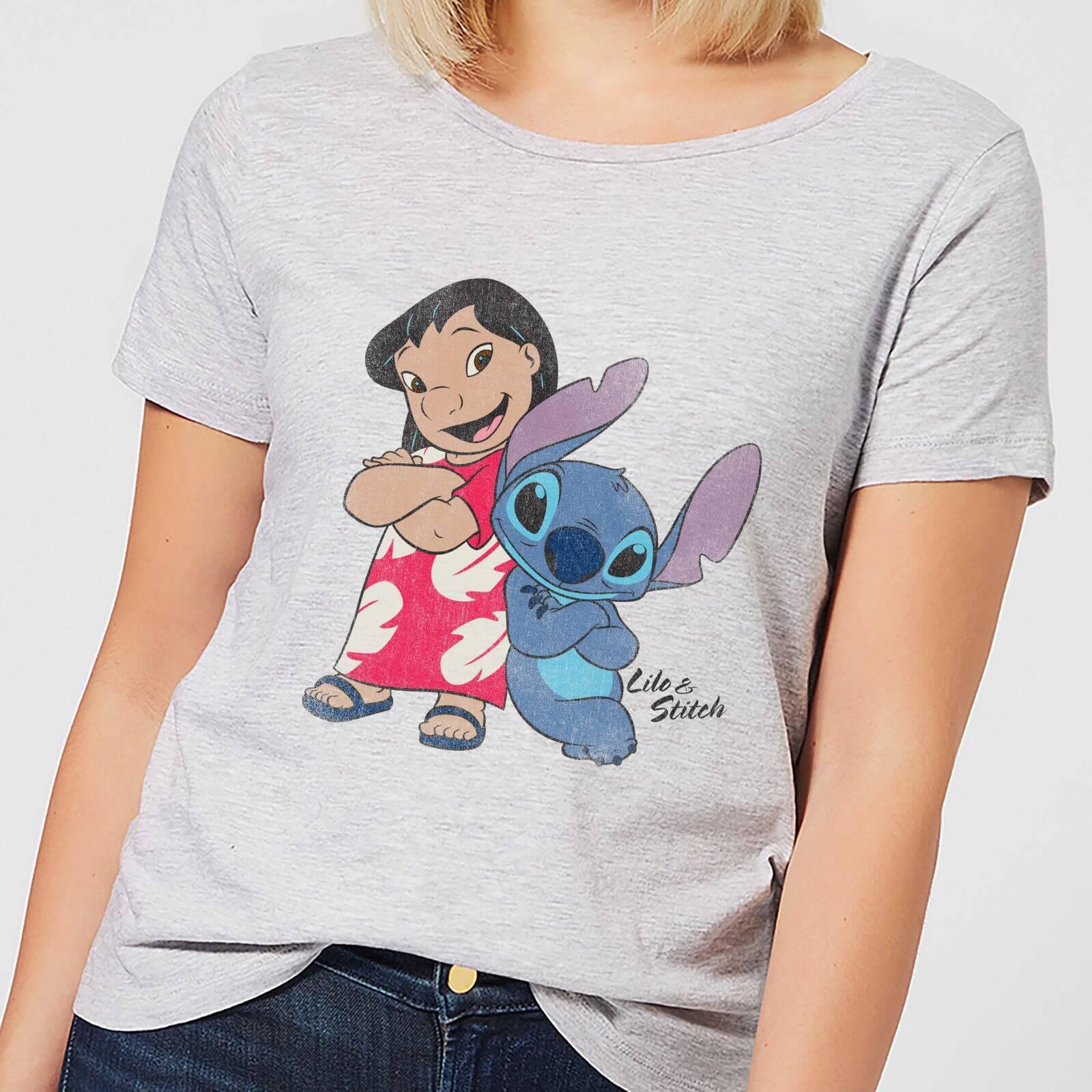 Lilo Stitch Femme Disney Shirt T Et Gris 3LR4Aj5q