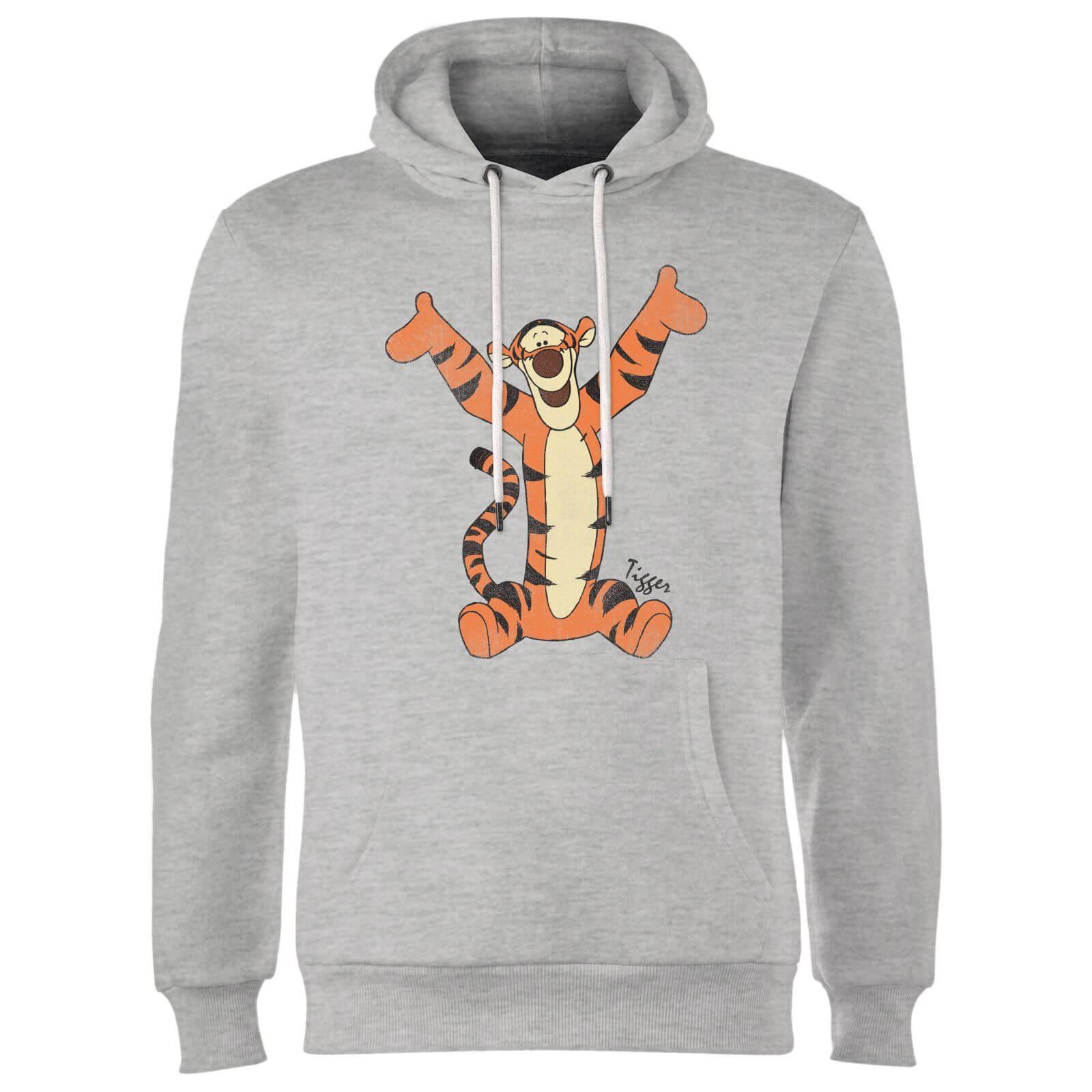 disney winnie the pooh tigger classic hoodie grey iwoot
