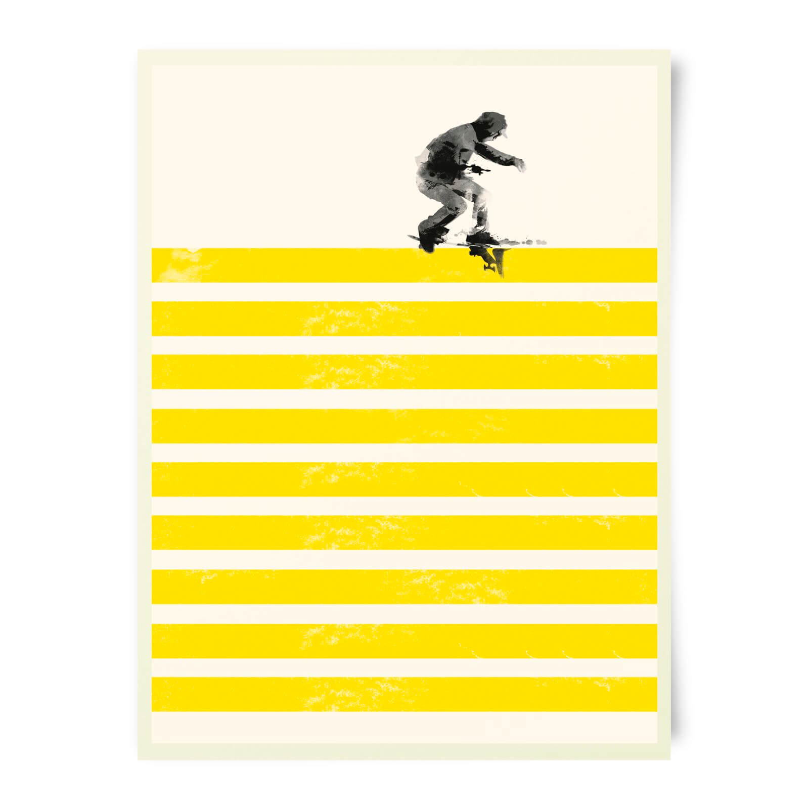 Robert Farkas Slide On Stripes Art Print