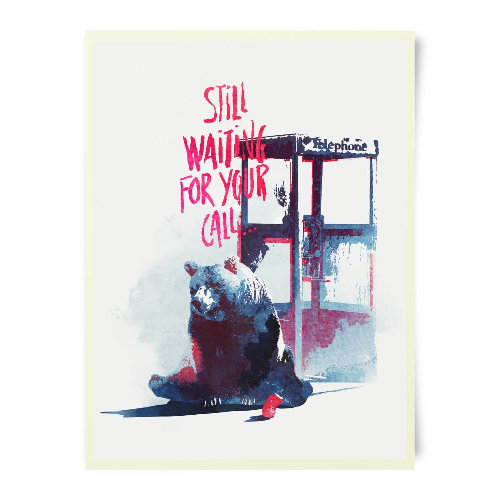 Robert Farkas Still Waiting For Your Call Art Print