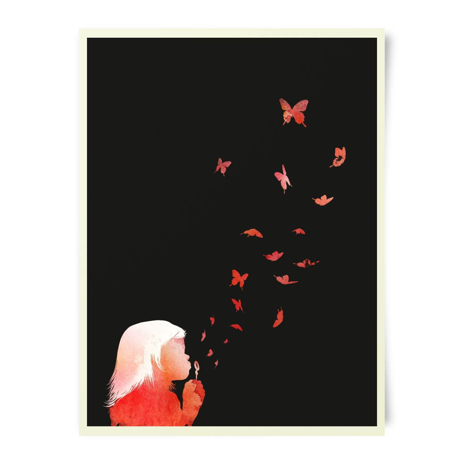 Robert Farkas Blowing Butterflies Art Print