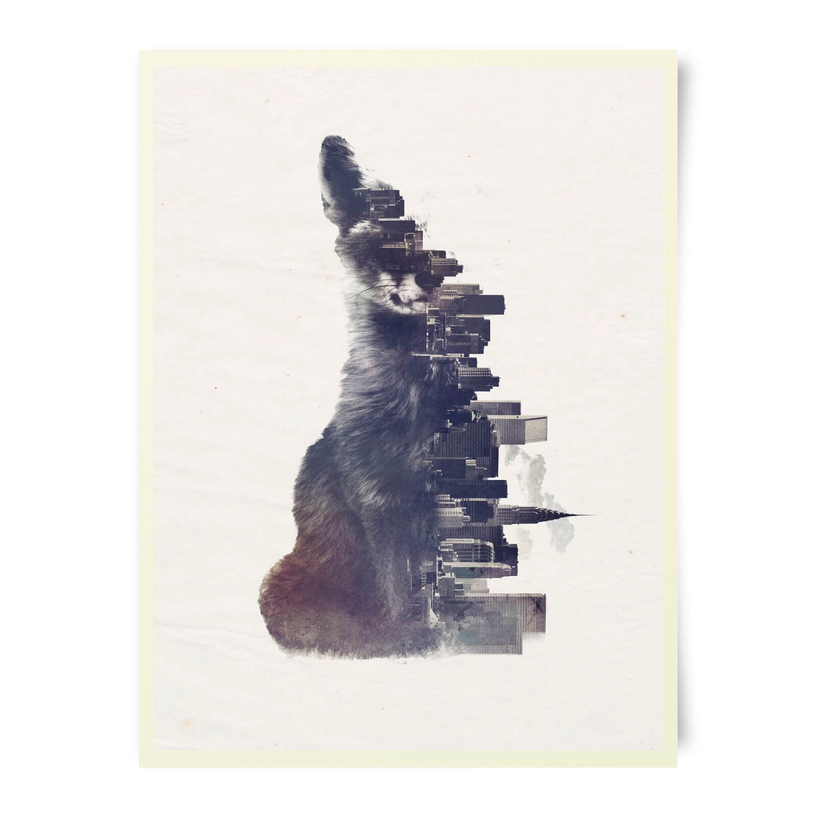 Robert Farkas Fox From The City Art Print