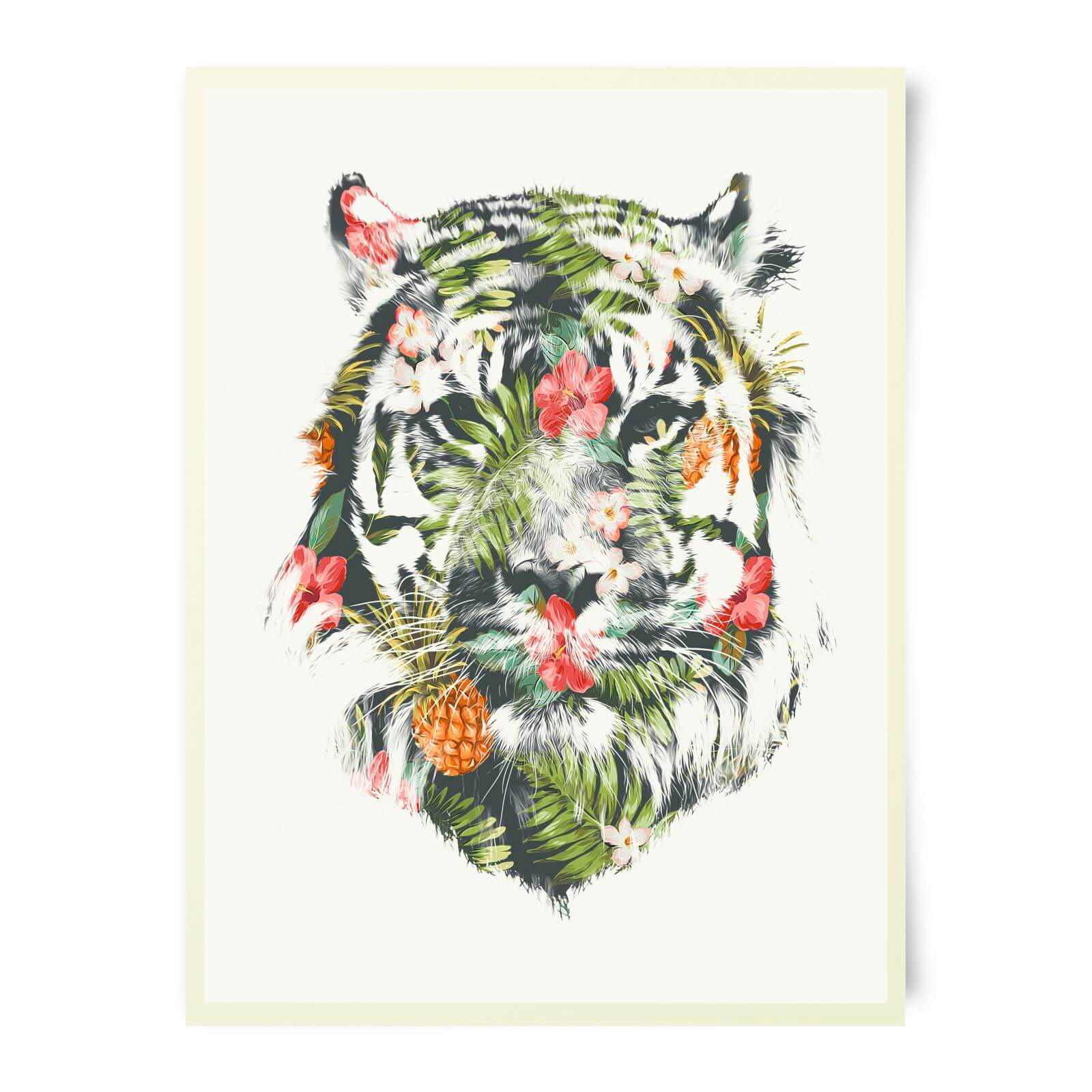 Robert Farkas Tropical Tiger Art Print
