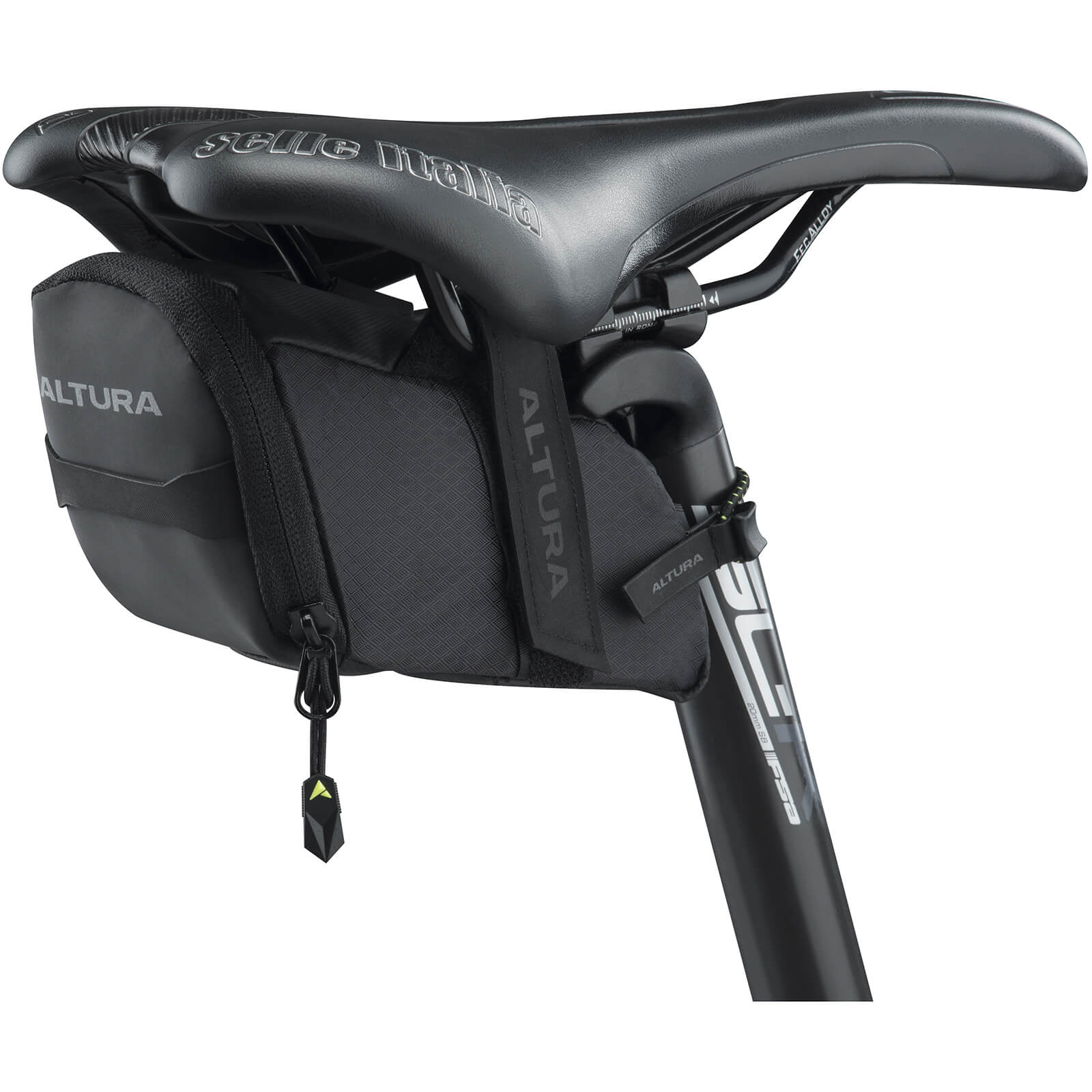 Altura NV Road Saddle Bag - Black - Medium