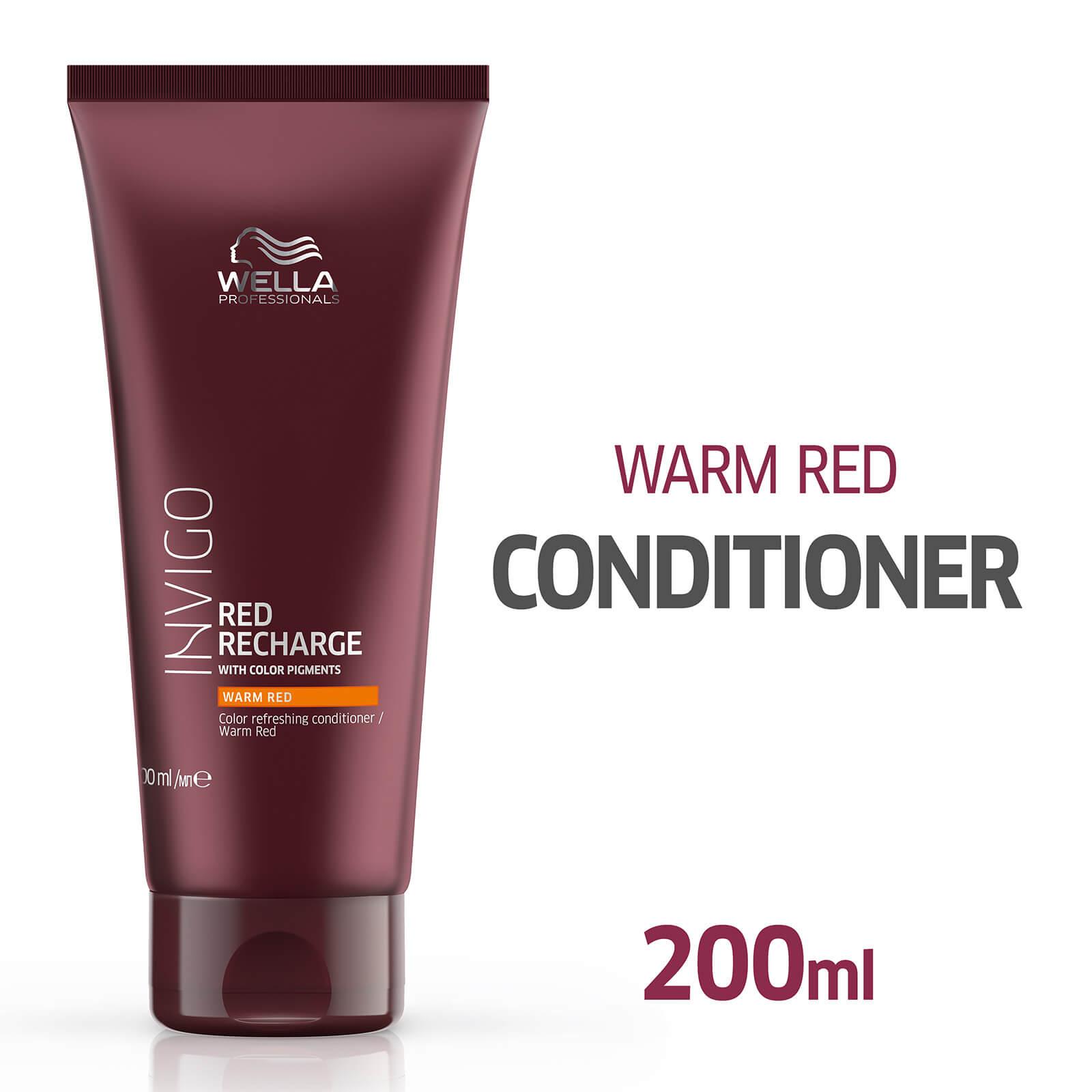 Wella Professionals Invigo Color Recharge Warm Red Conditioner 200ml Lookfantastic