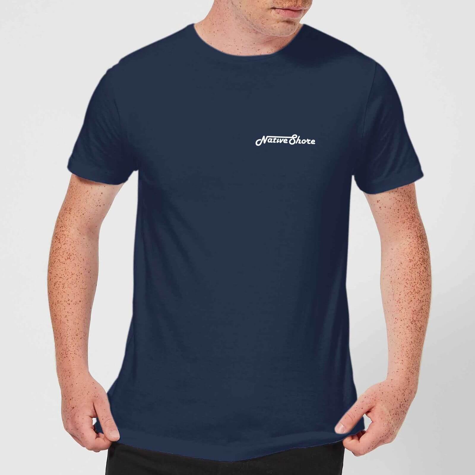san francisco ee828 0e85b Native Shore Men s Original Shore T-Shirt - Navy Clothing   Zavvi US