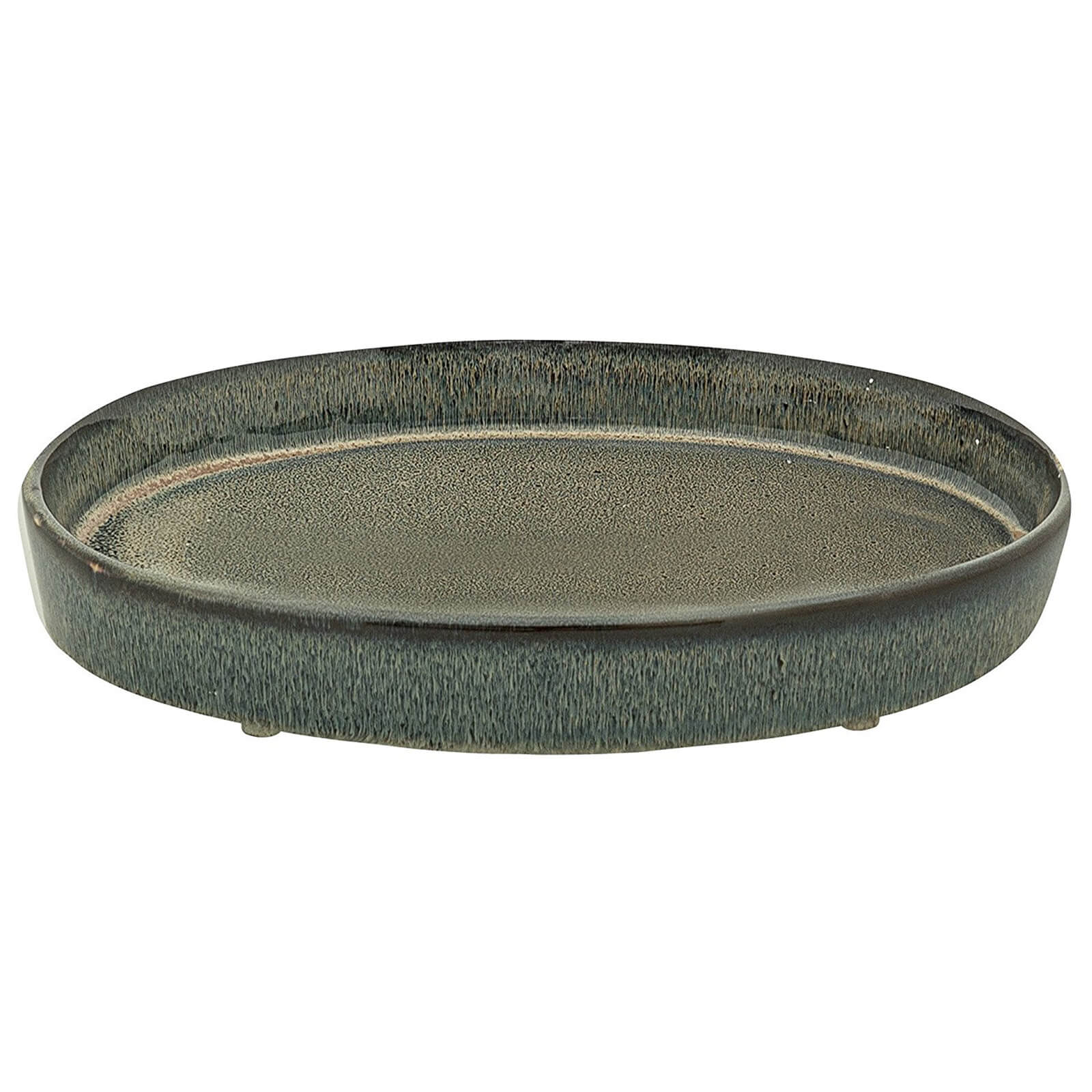 Bloomingville Ceramic Tray - Brown