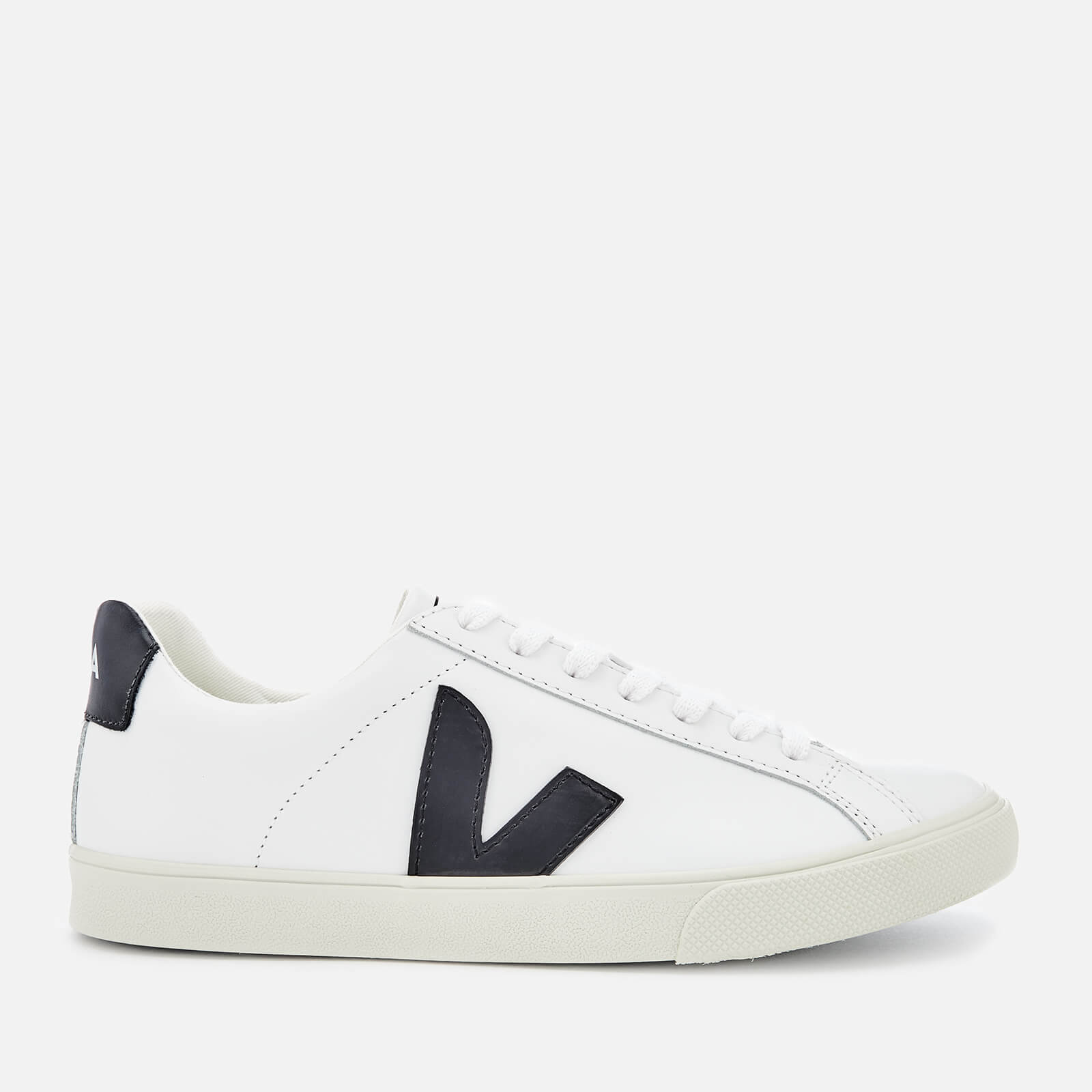 1ac1d59a5f6 Veja Women's Esplar Logo Leather Low Top Trainers - Extra White/Black