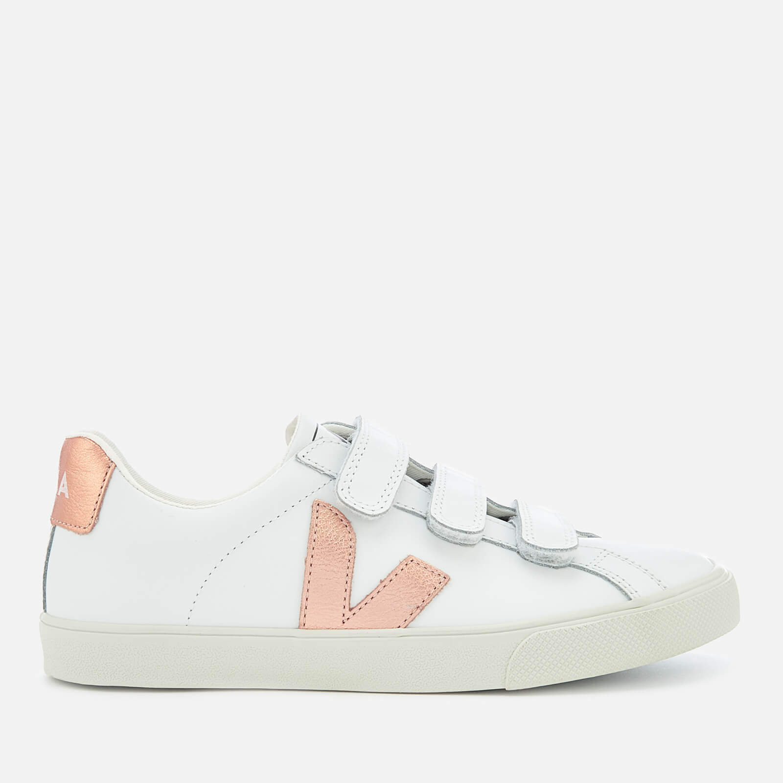 051e136d1a8d00 Veja Women's 3-Lock Leather Trainers - Extra White Venus - Free UK Delivery  over £50