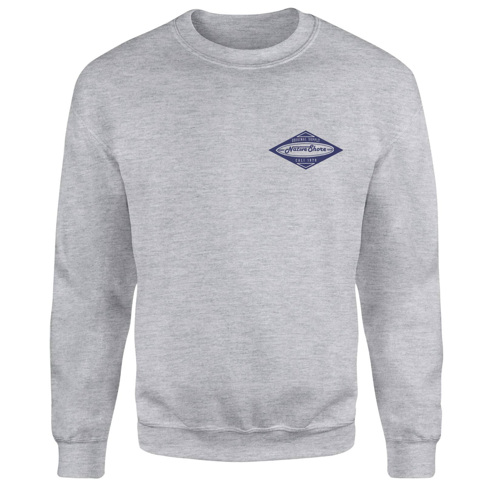 Native Shore Logo Sweatshirt - Grey