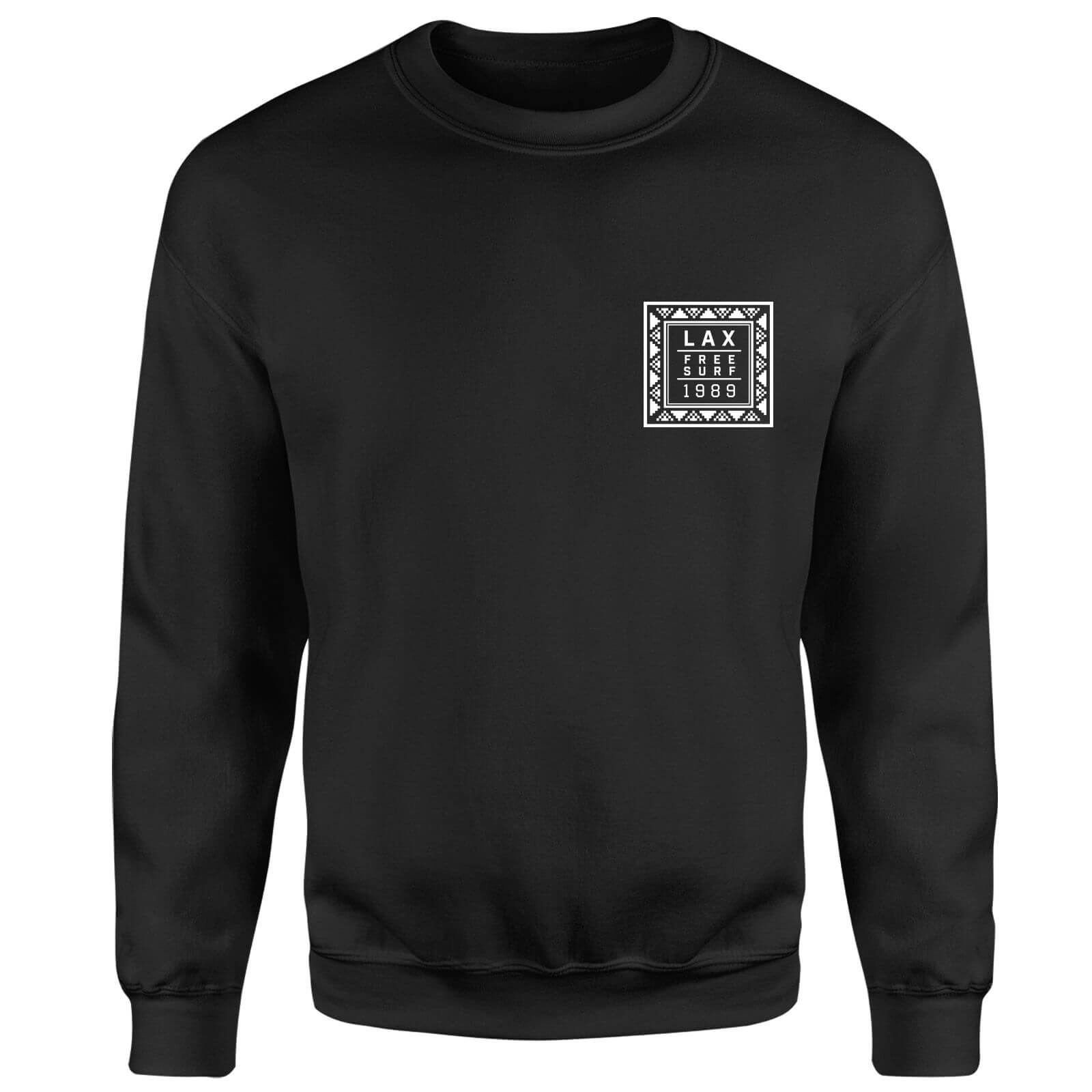 Native Shore Lax Free Surf Sweatshirt - Black