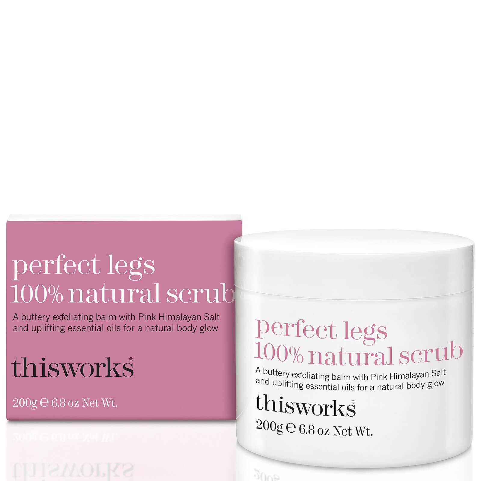 This Works Perfect Legs 100 Natural Scrub 200g Free Shipping Nature Republic Himalaya Salt Cleansing Balm Pink Lookfantastic