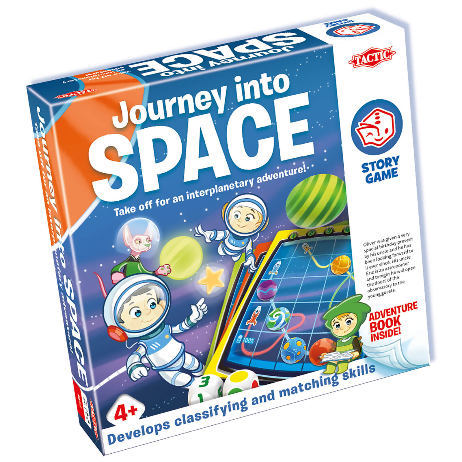 Story Game: Journey Into Space Game
