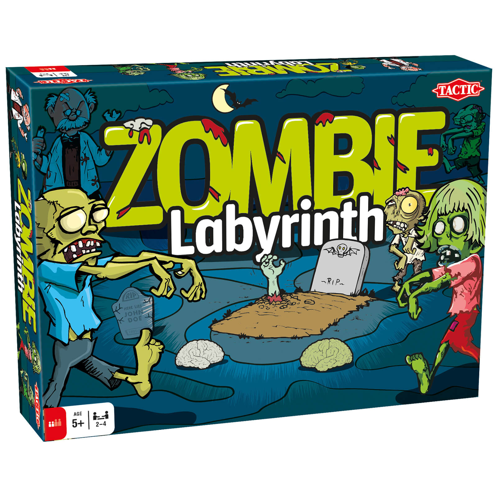 Zombie Labyrinth Game