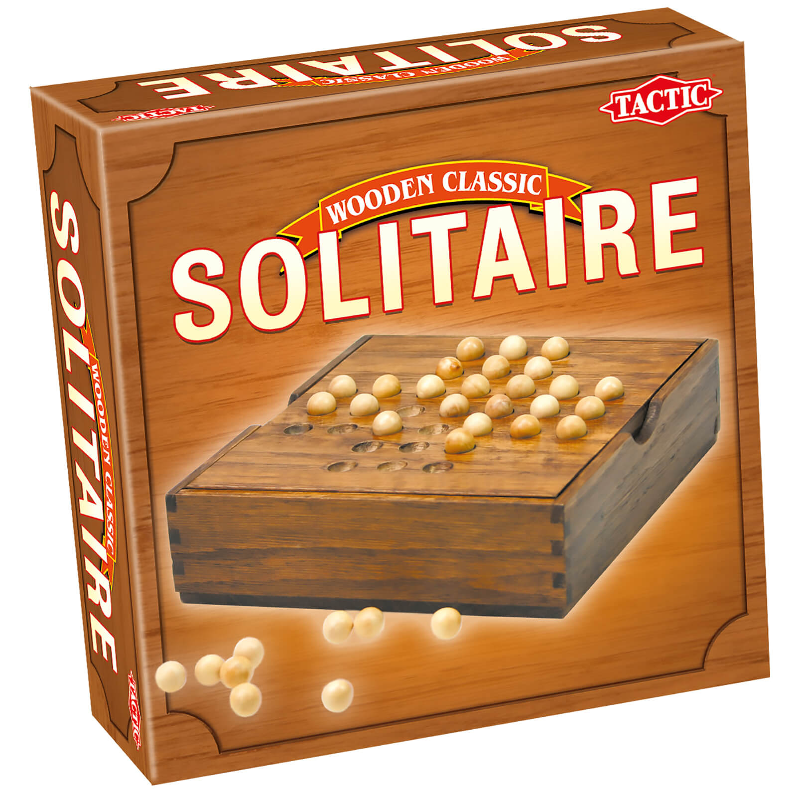 Wooden Classic Solitaire